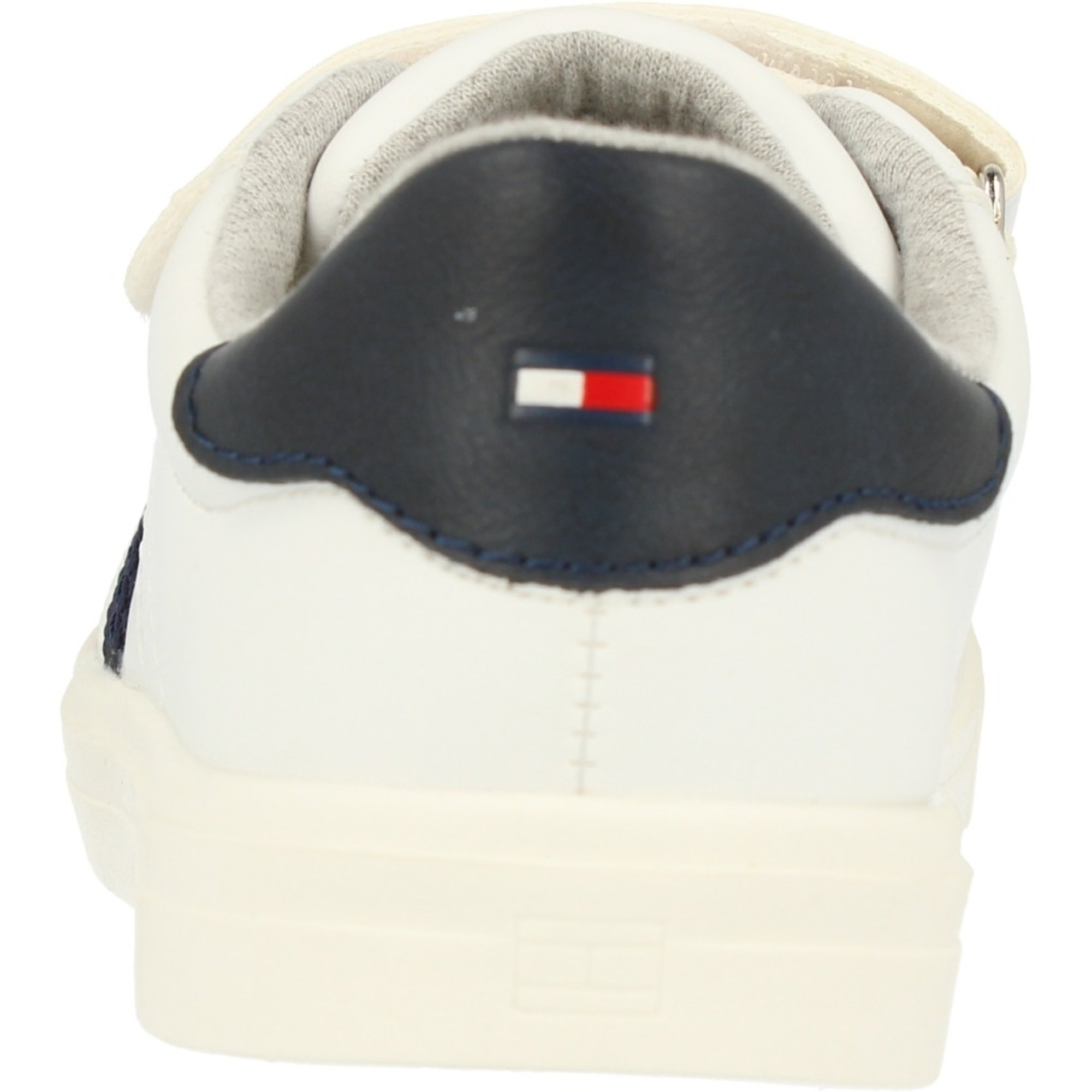 Tommy Hilfiger T1B4-30303-0621 White/Blue Eco Leather Infant