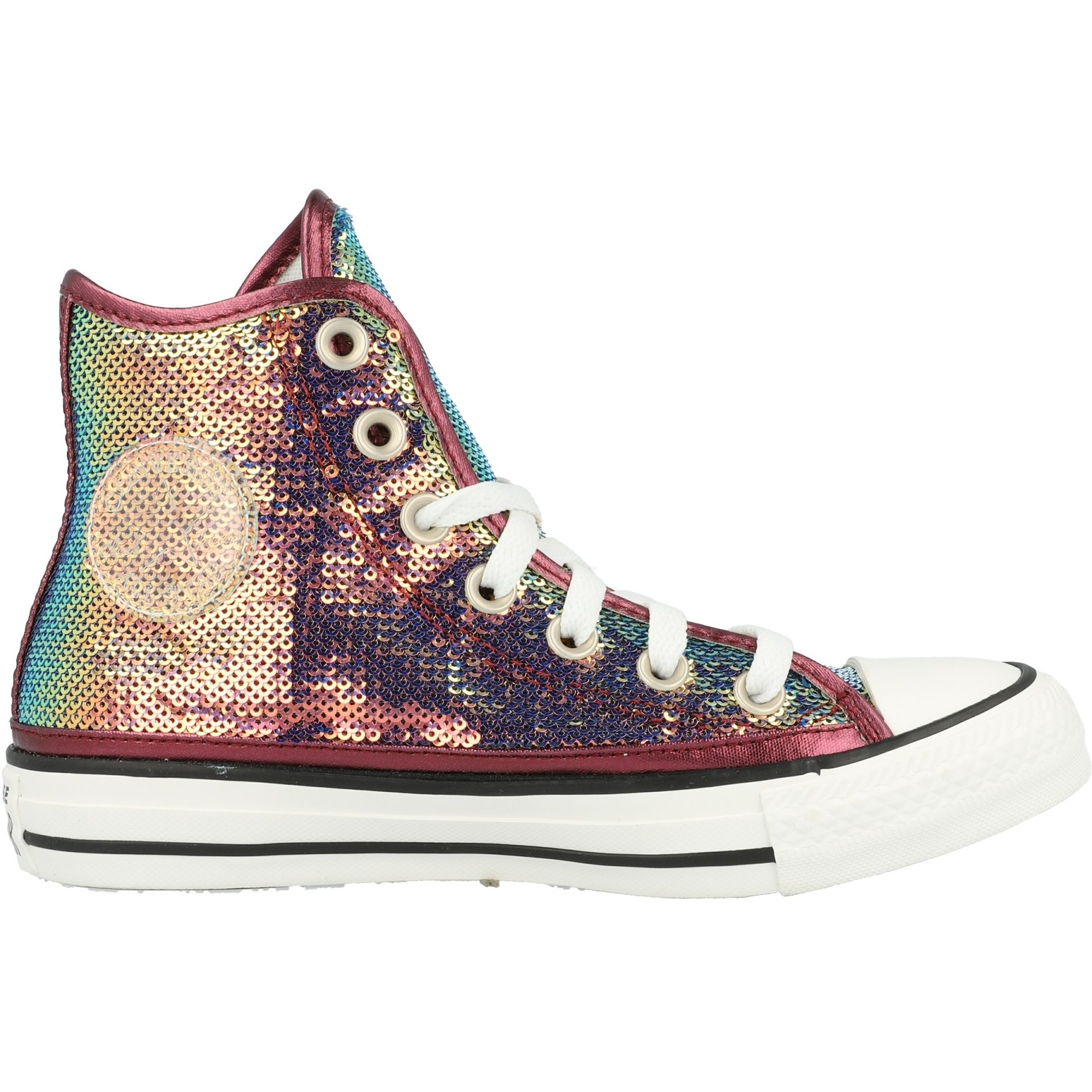 Womens Mini Sequins Chuck Taylor All Star High Top