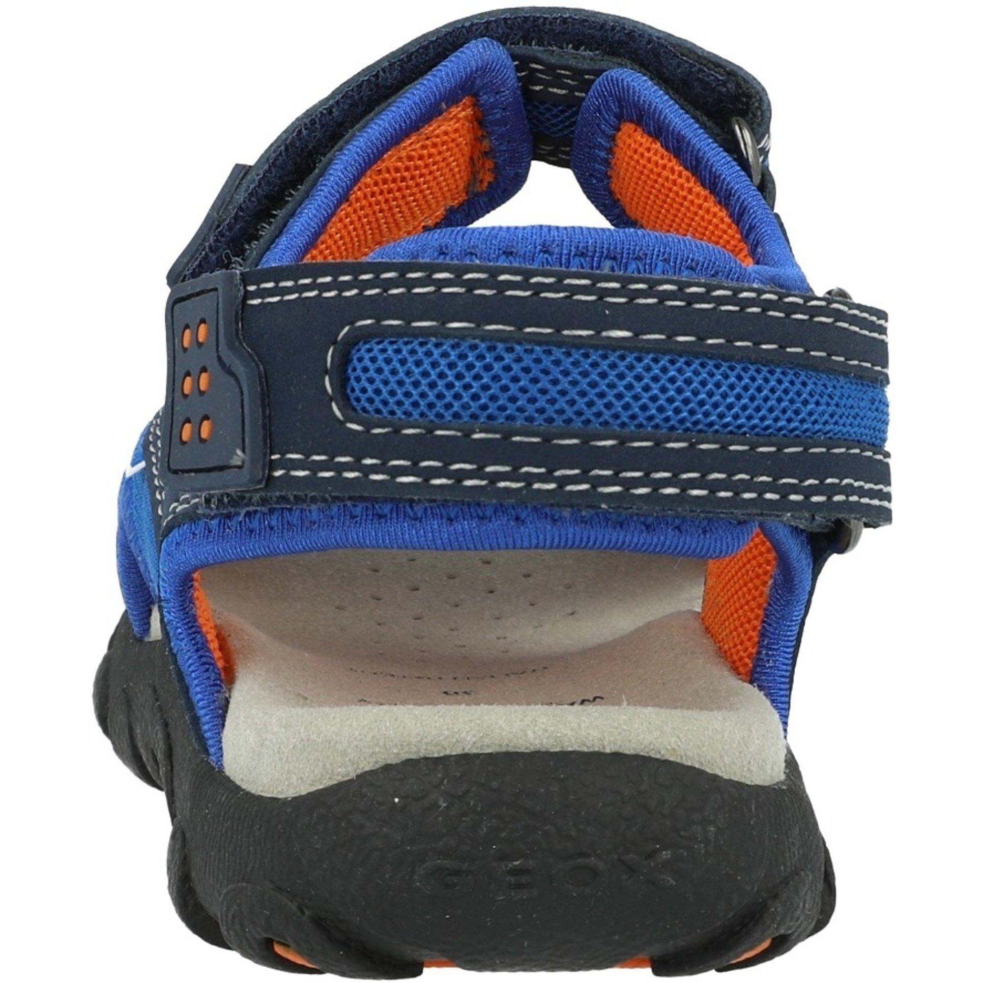 Manto Autenticación infinito  Geox J Strada B Azul/Naranja (Navy/Orange) Malla - Correa Sandalias -  Awesome Shoes