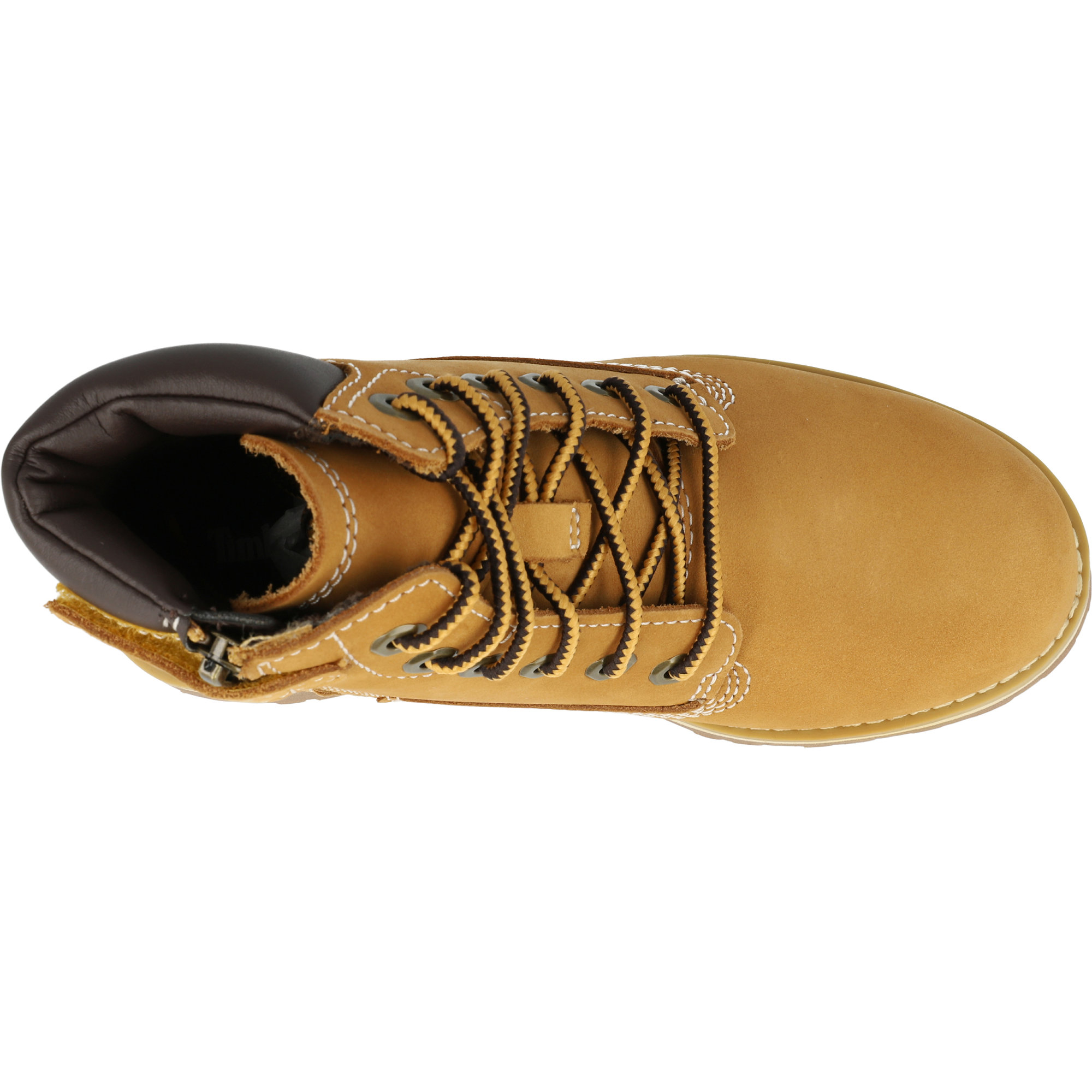 Timberland Courma Kid 6 Inch Side Zip Y Wheat Nubuck