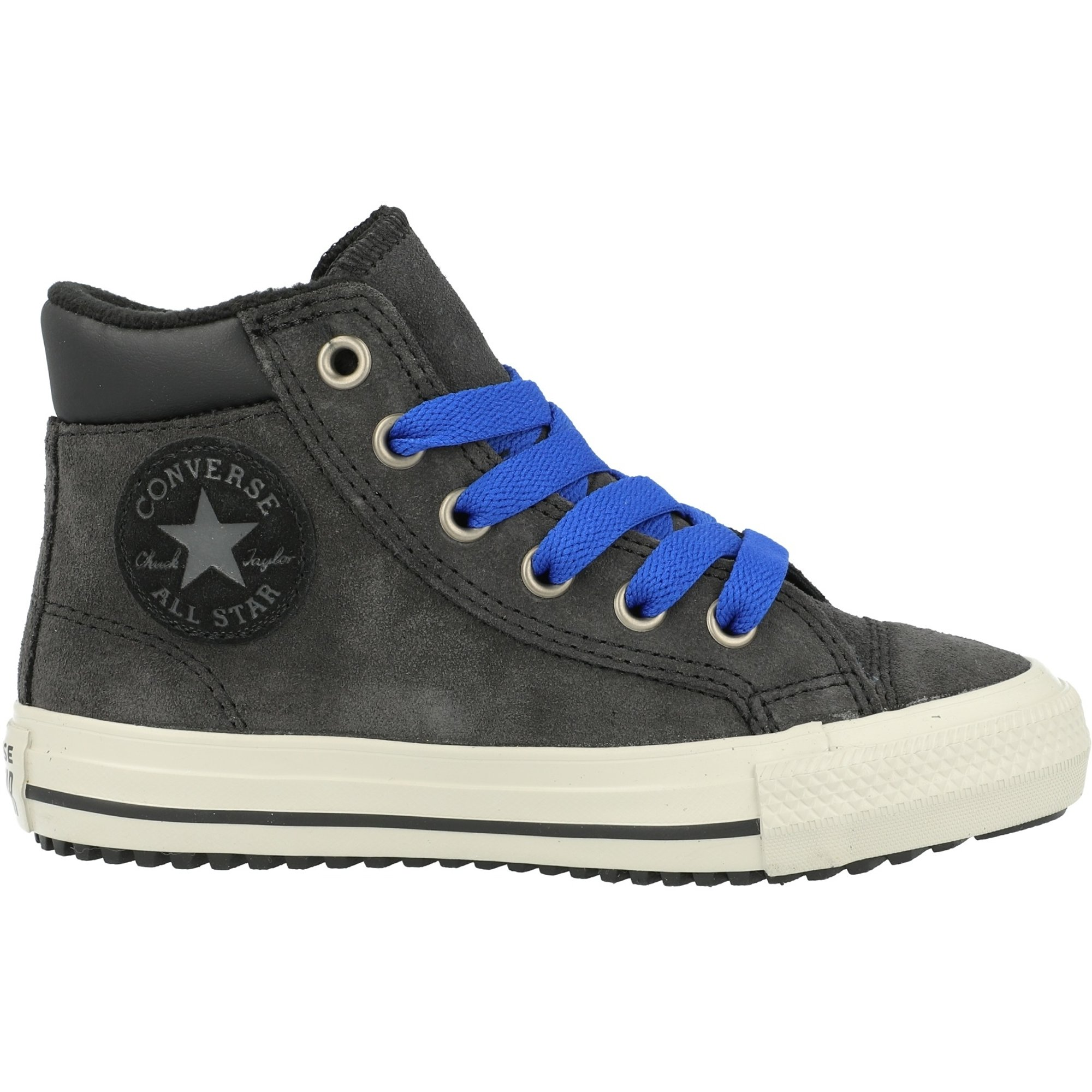 Converse Chuck Taylor All Star PC Boot Boots On Mars Hi Almost Black Suede Junior