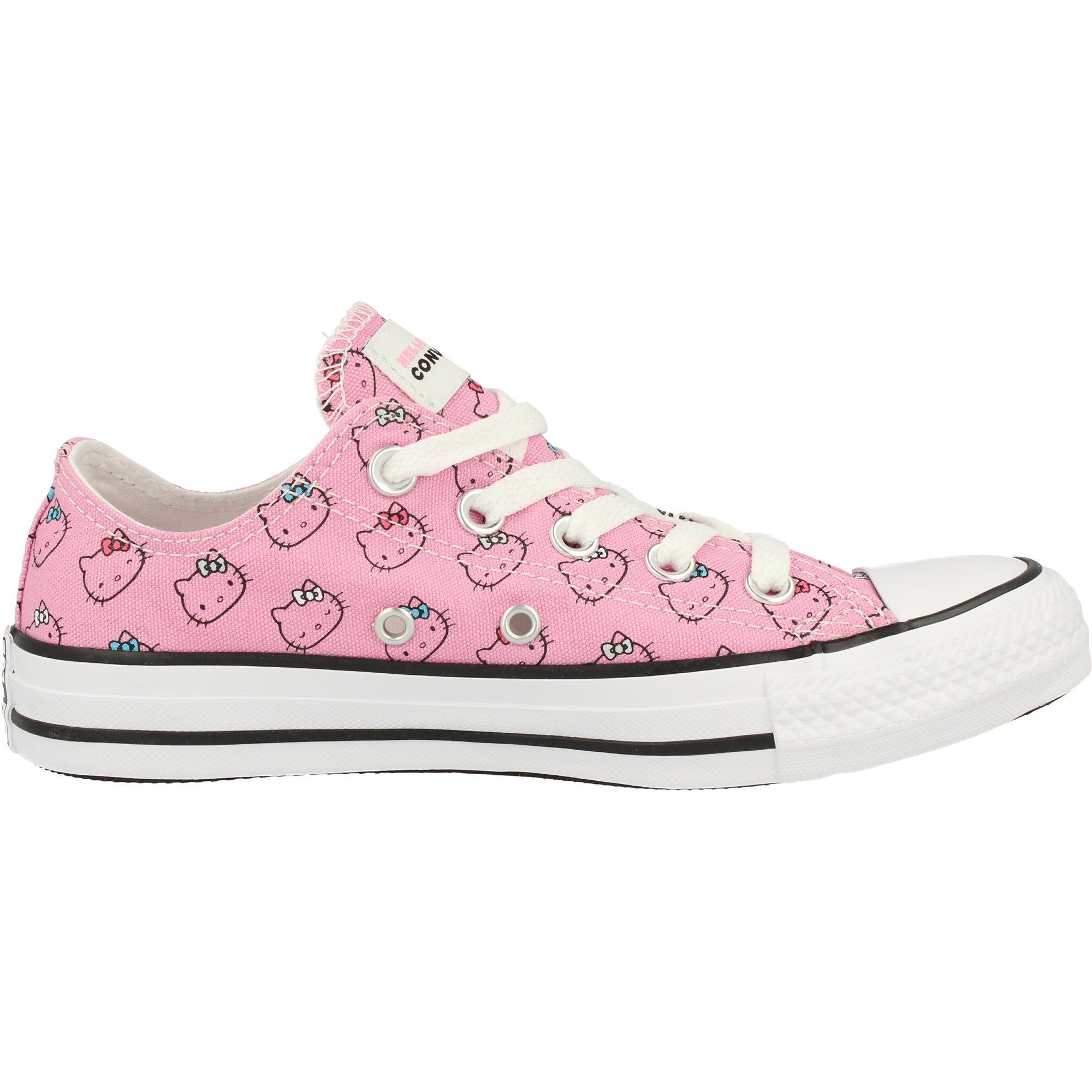 Converse Chuck Taylor All Star Hello Kitty Ox Sneaker rosa