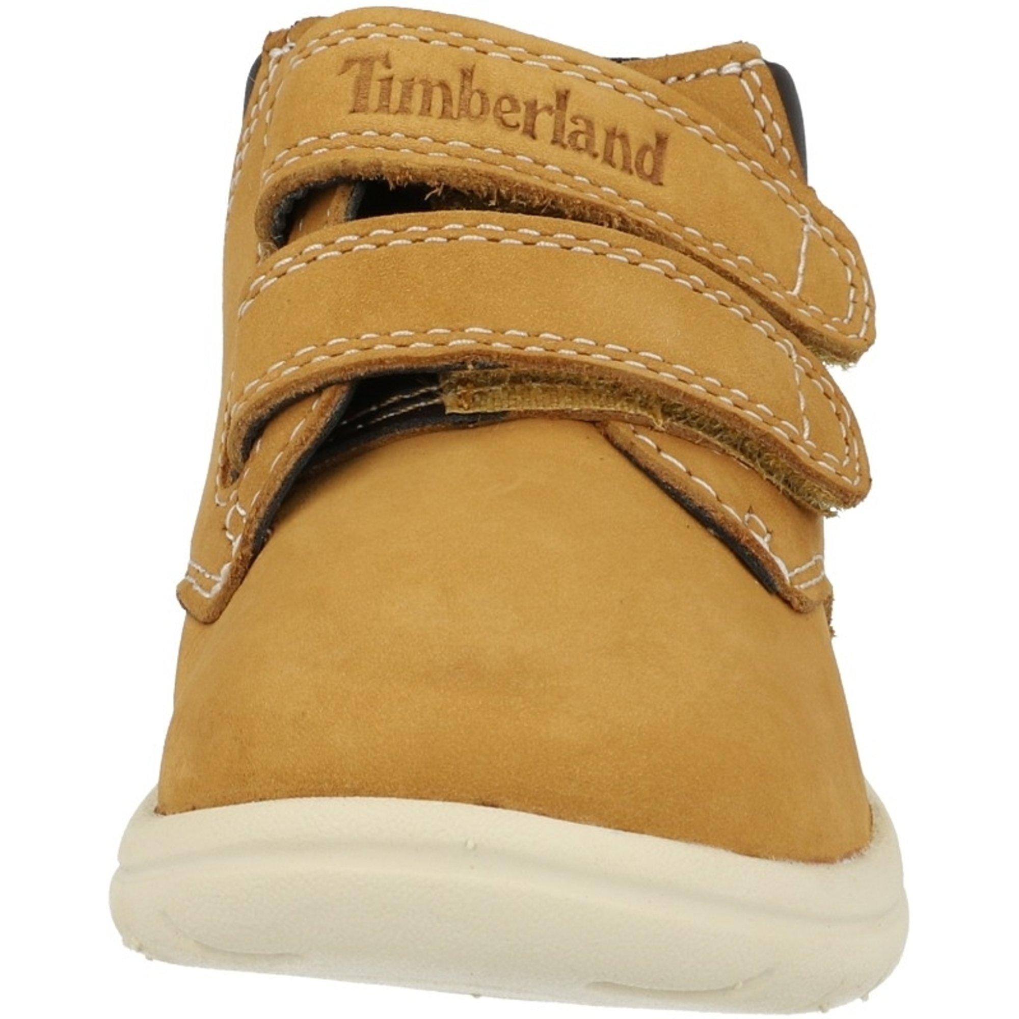 Timberland Toddle Tracks Hook & Loop Wheat Nubuck