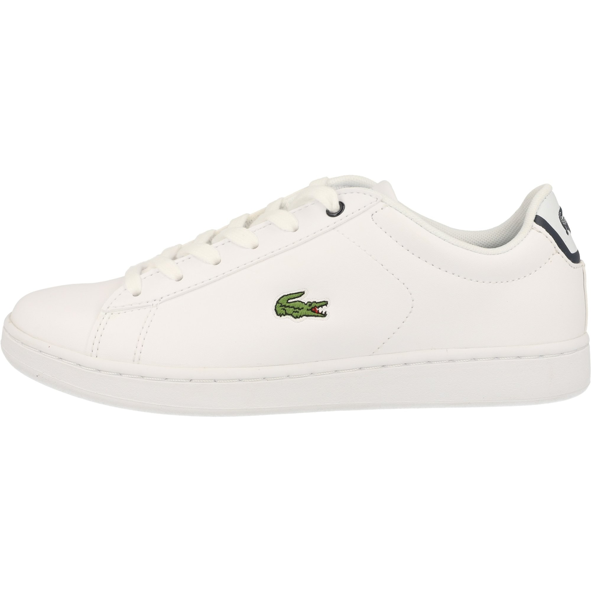 Kids/'s Lacoste Carnaby Evo BL 1 Inf Low rise Trainers in White