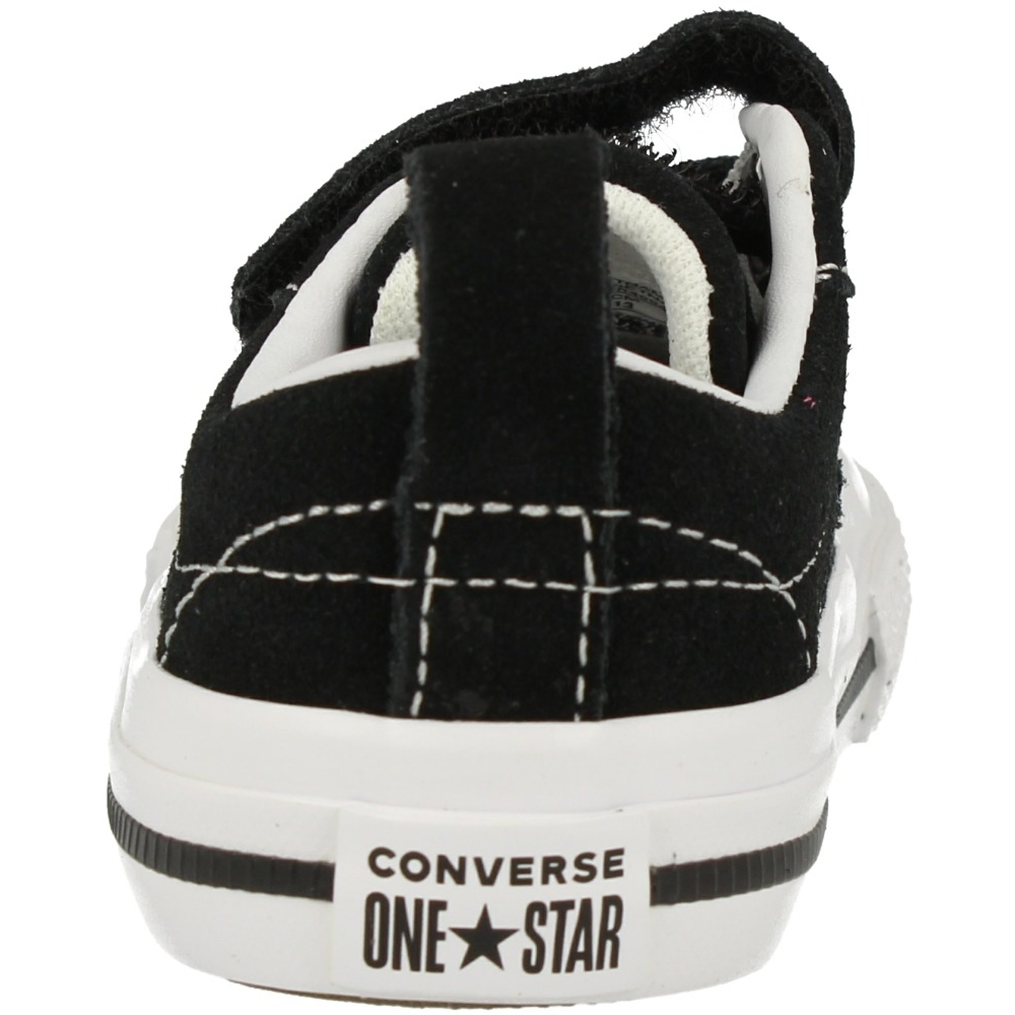 Converse Chuck Taylor All Star 2V PC Boot On Mars Hi Fast Schwarz Wildleder Baby