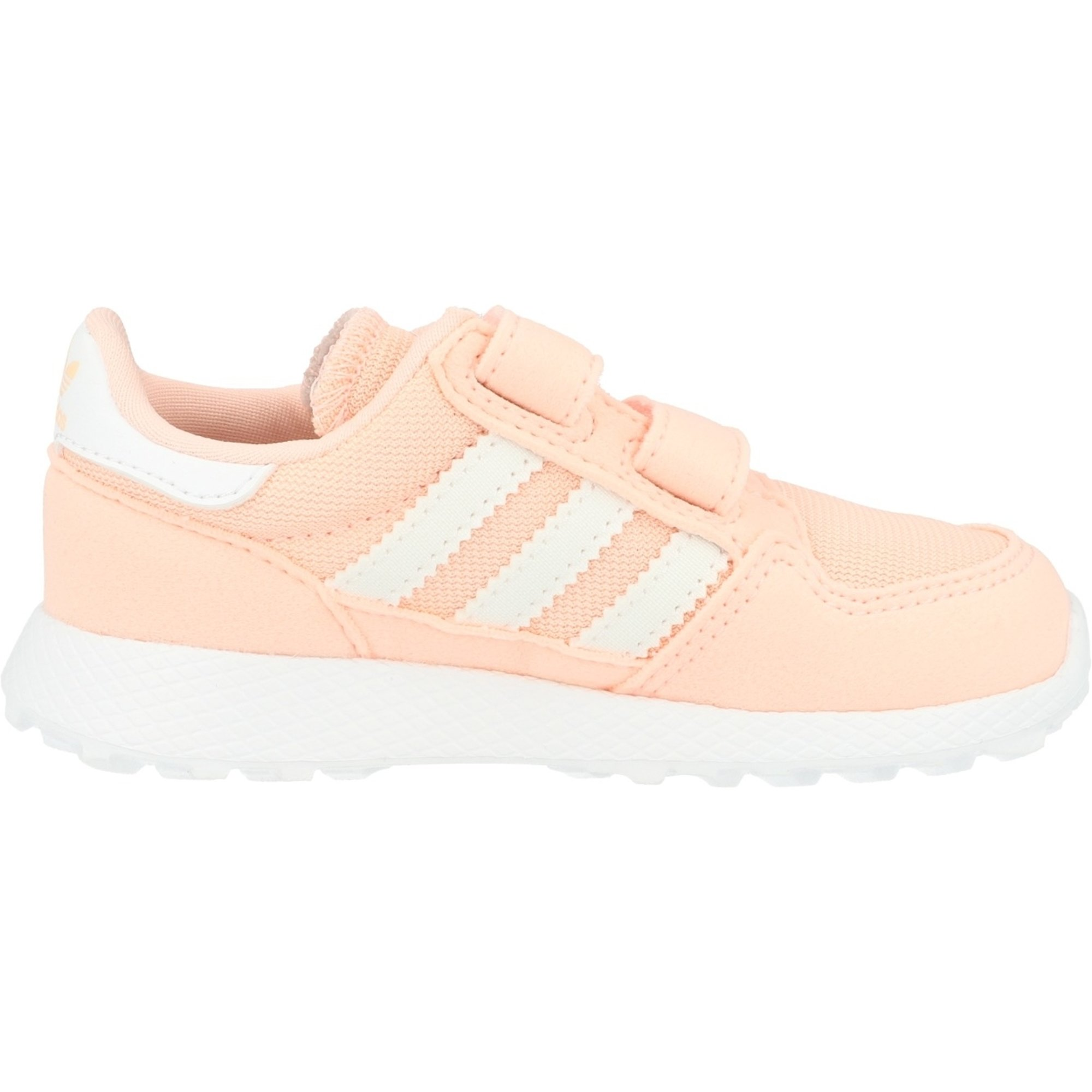 adidas Originals Forest Grove CF I Clear Orange Synthetic Suede Infant