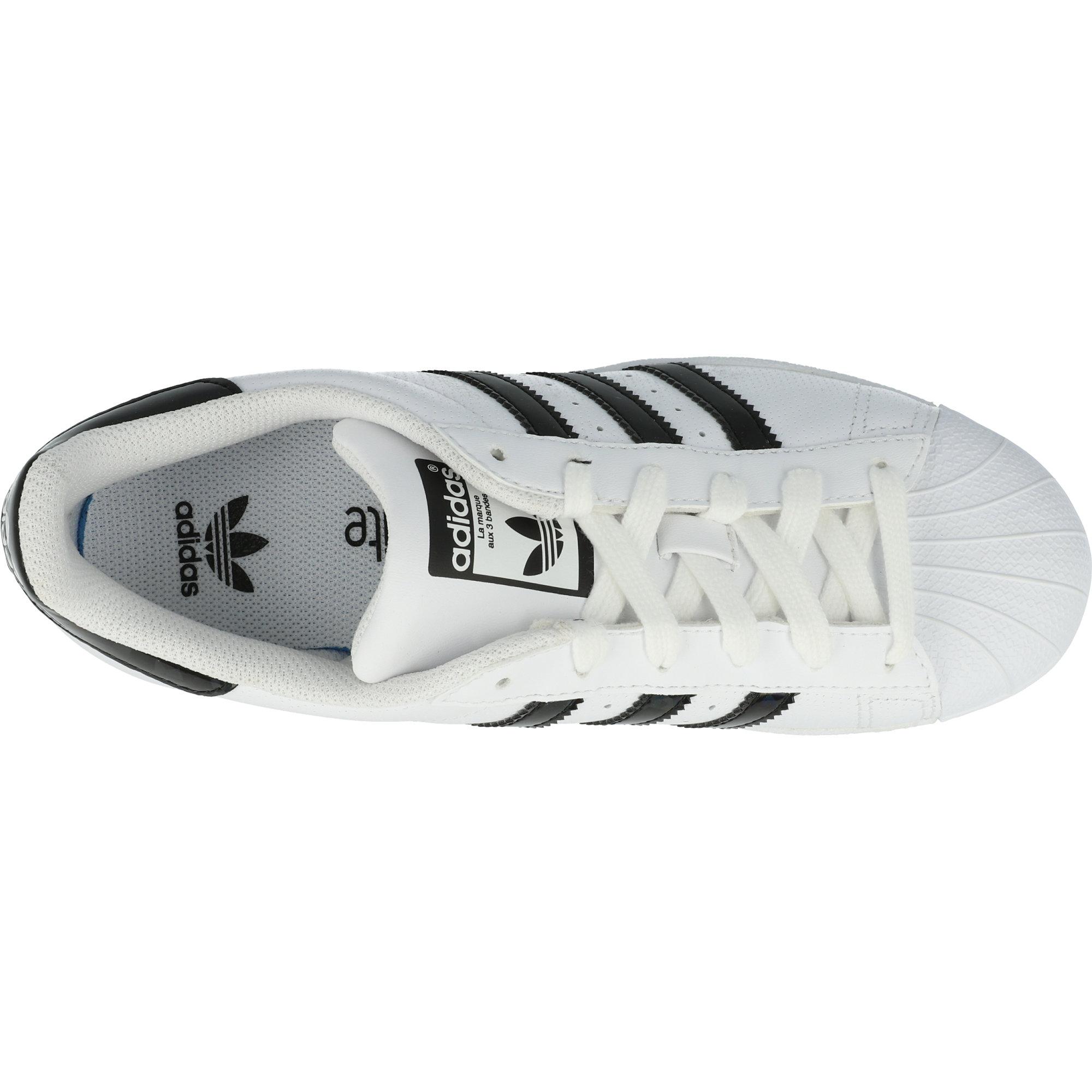adidas Originals Superstar J WhiteBlack Holographic Leather Youth
