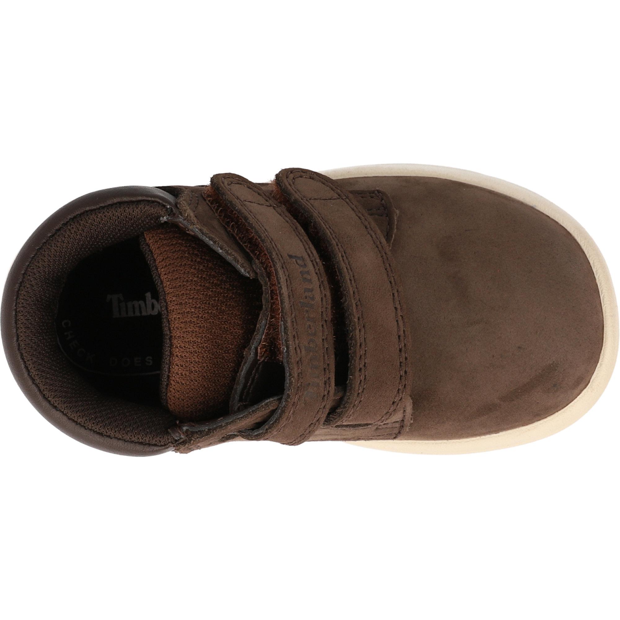 Timberland Toddle Tracks Hook & Loop Dark Brown Nubuck Infant