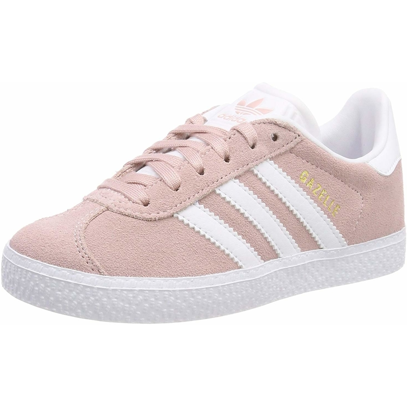 Details zu adidas Originals Gazelle C Icey Pink Wildleder Junior Trainer Schuhe