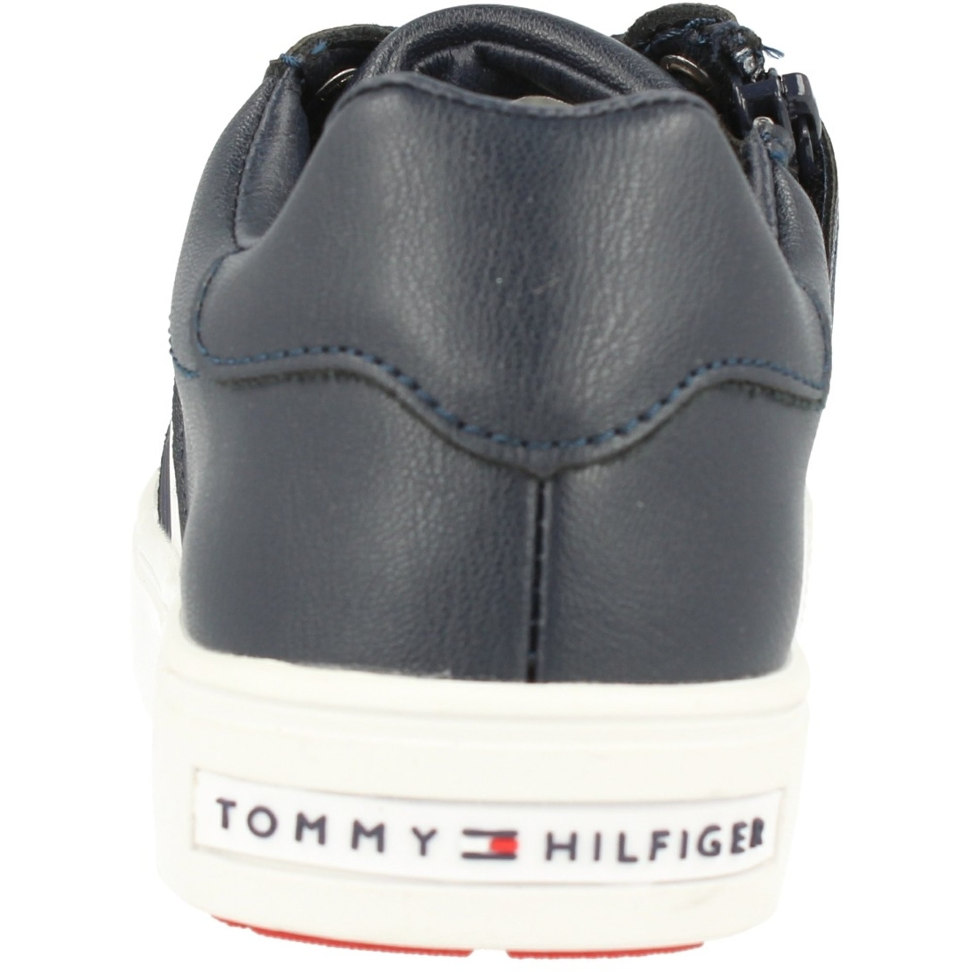 Tommy Hilfiger T3B4-30099-0193 Blue Eco Leather Youth