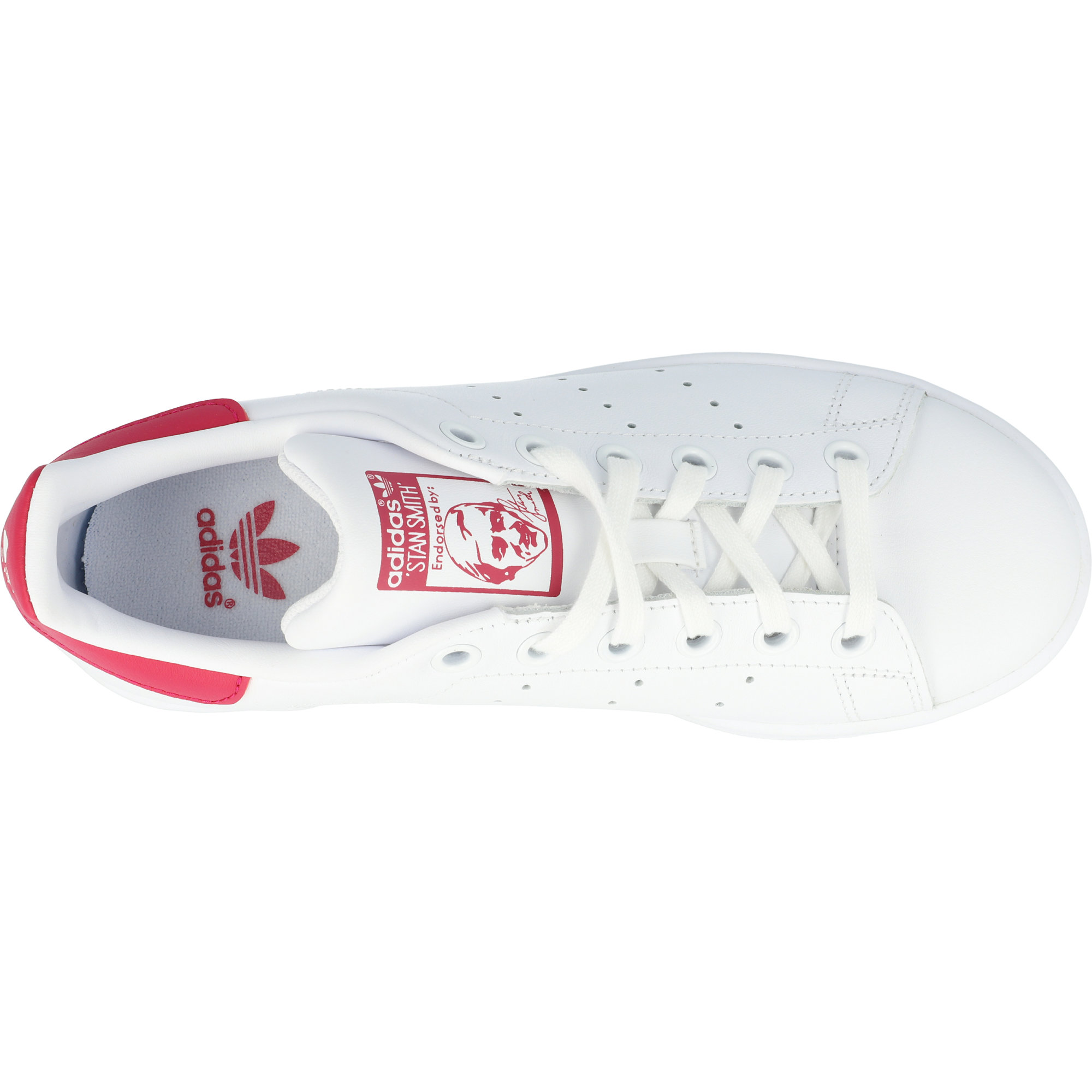 adidas Originals Stan Smith J BiancaRosa Pelle Formatori