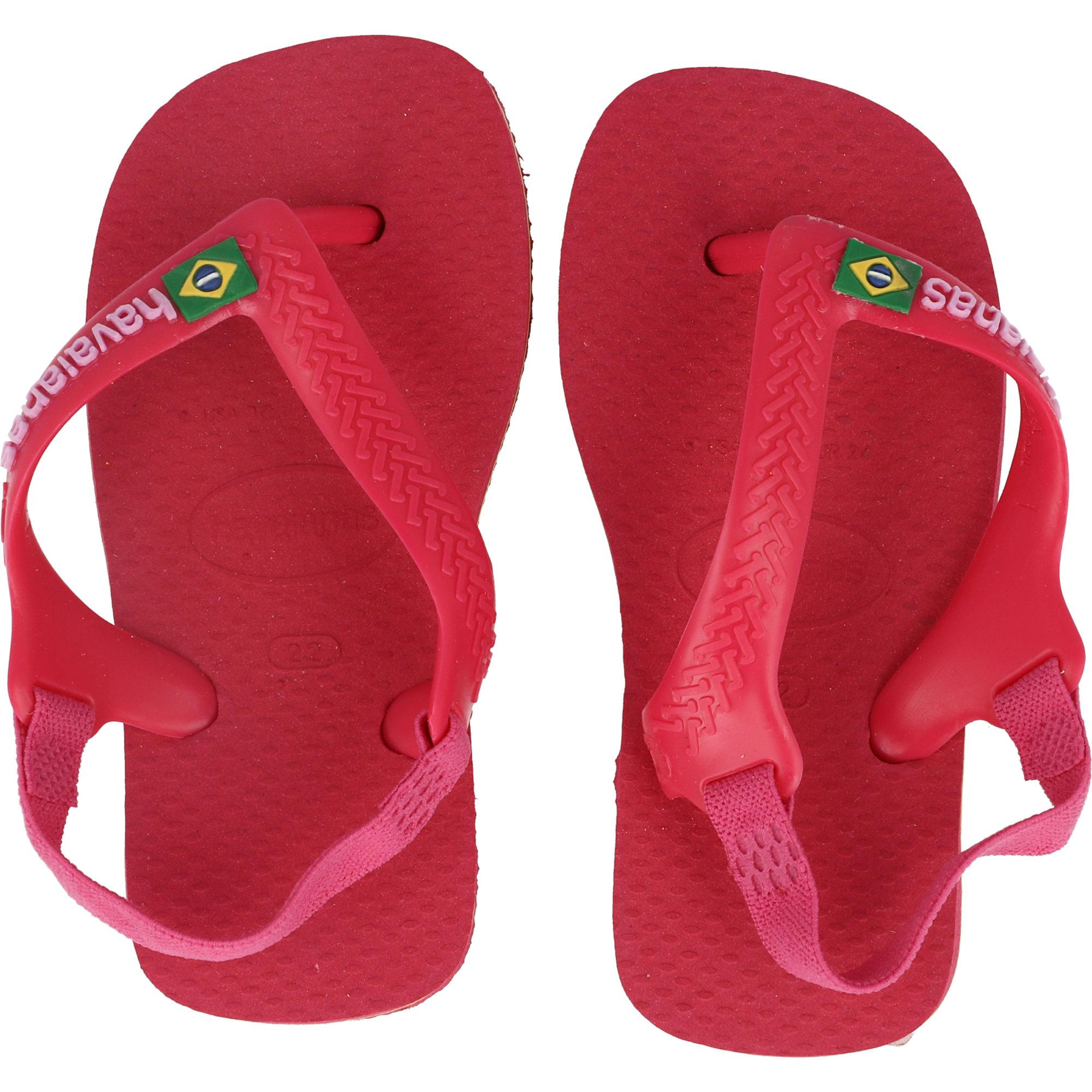Havaianas Baby Brasil Logo II Tulip Rubber Baby