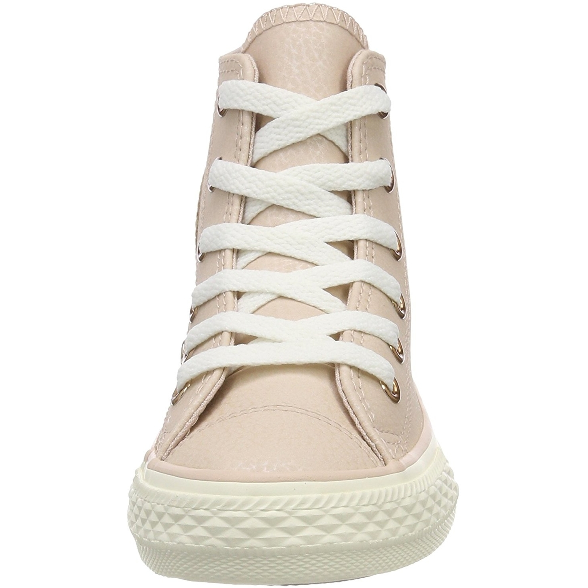 Converse Chuck Taylor All Star Leather Hi Particle Beige Leather Junior