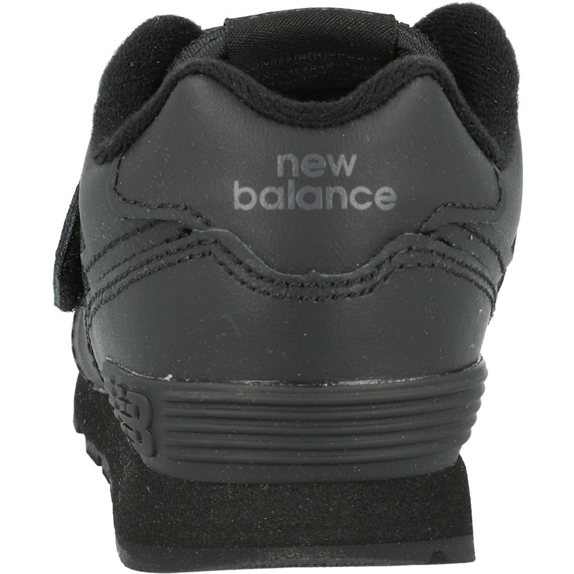 new balance 574 cuero negras