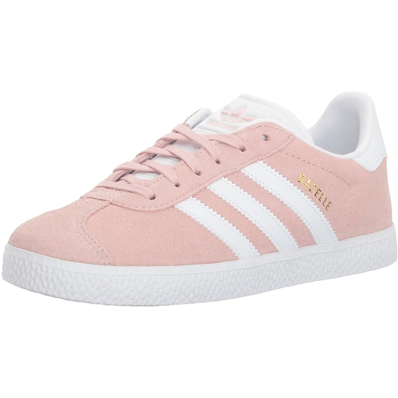 Details about adidas Originals Gazelle J Ice Pink Suede Youth Trainers Shoes