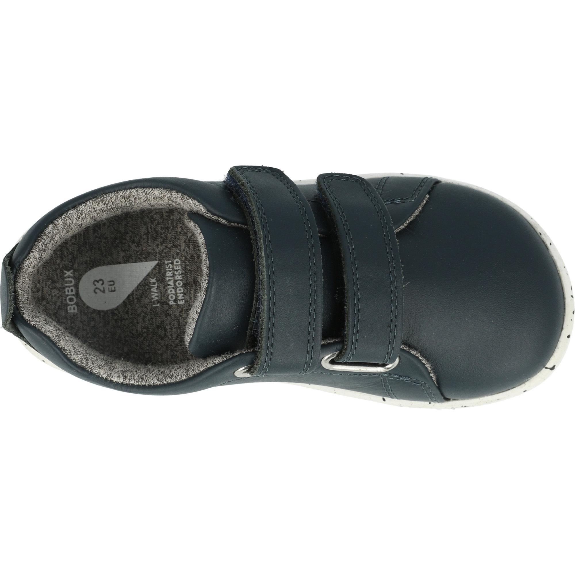 Bobux i-Walk Grass Court Navy Leather Infant