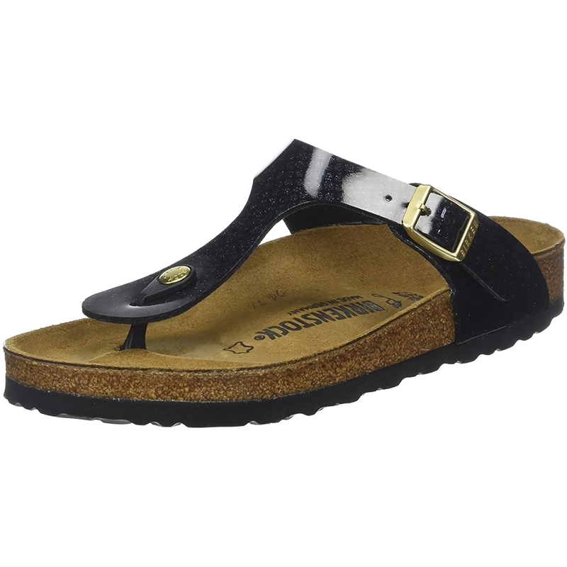 Birkenstock Gizeh Magic Snake Black
