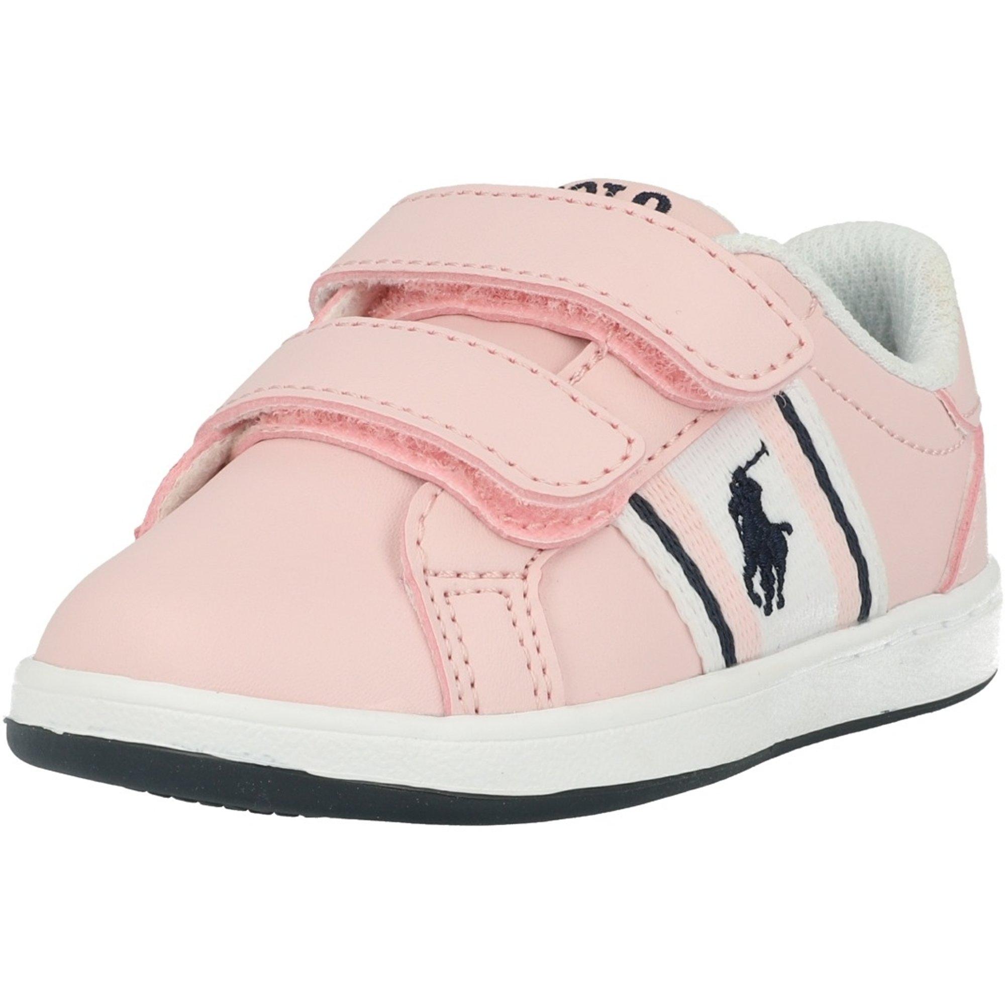 Polo Ralph Lauren Oaklynn EZ Light Pink/Navy Smooth Infant