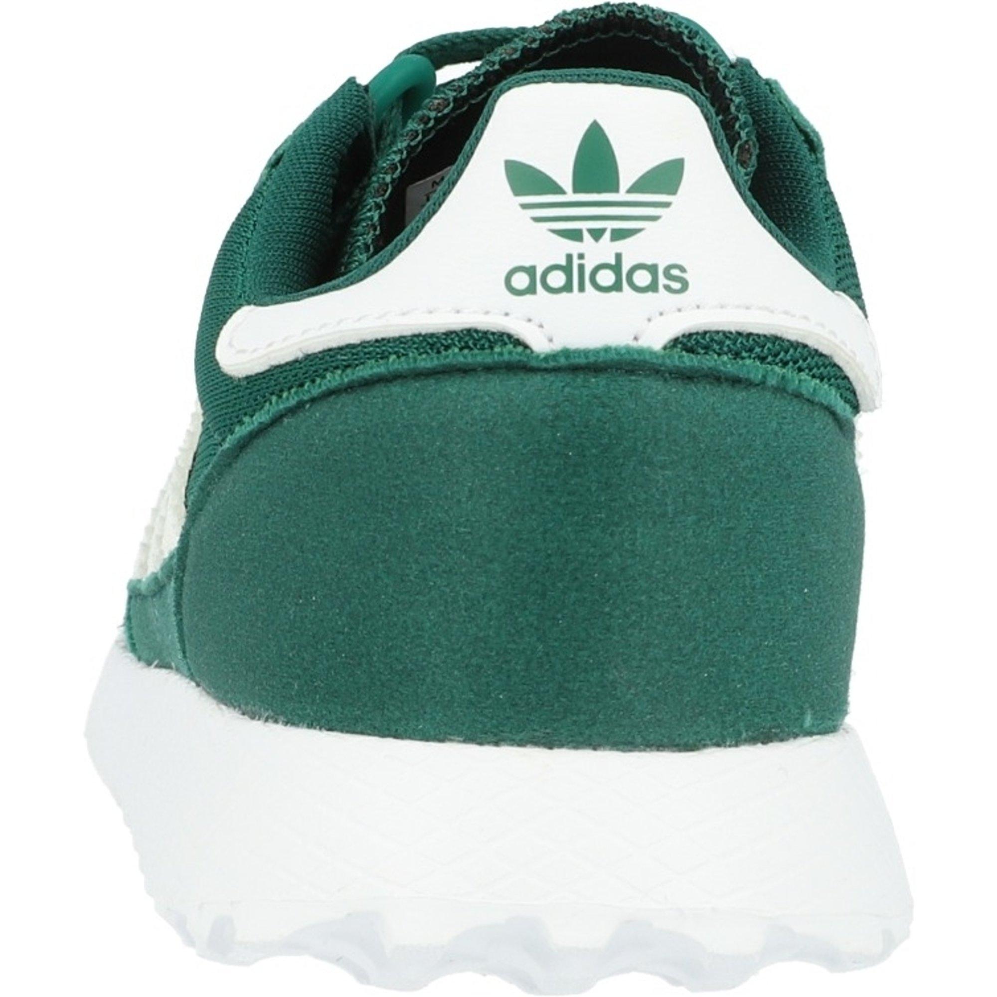 ADIDAS Originals – Sneaker 'Forest Grove' aus Veloursleder und Mesh – Rot