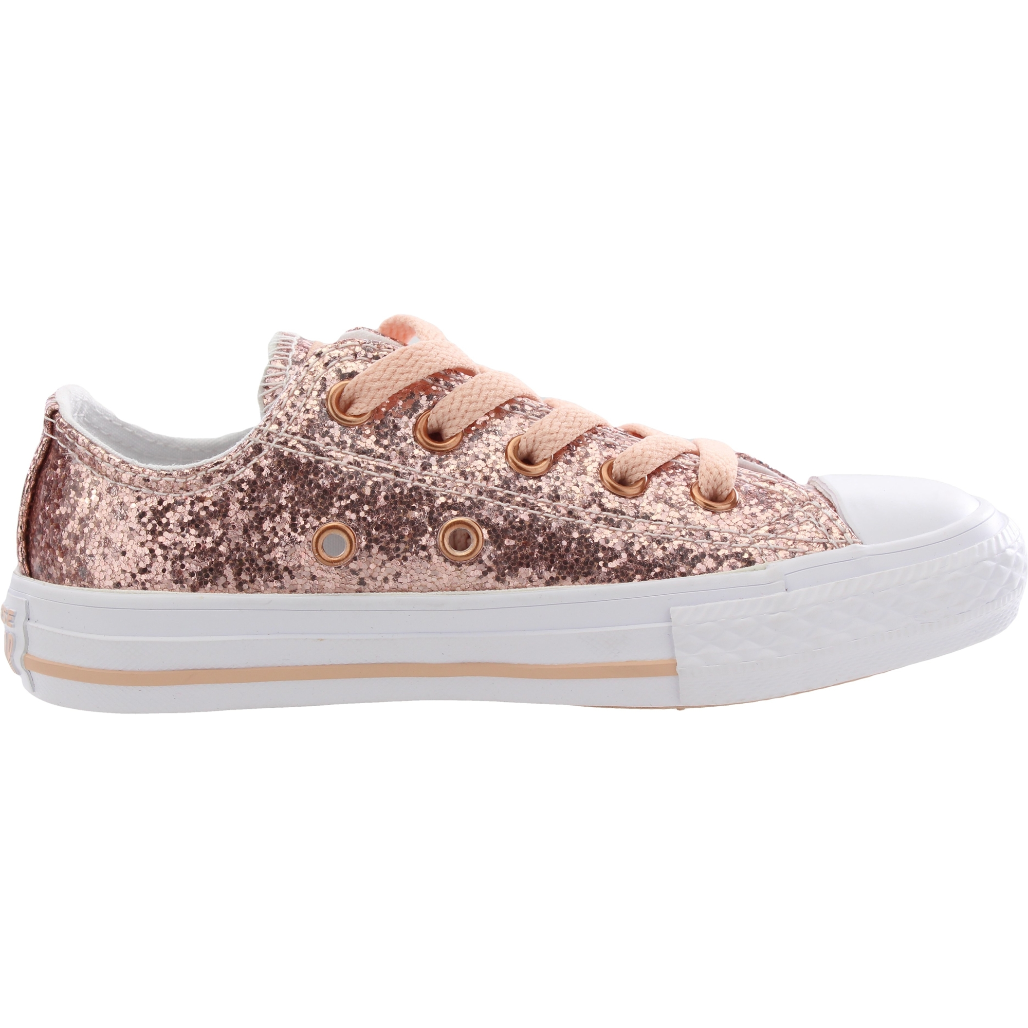 Converse Chuck Taylor All Star Glitter Dust Pink Synthetic Junior