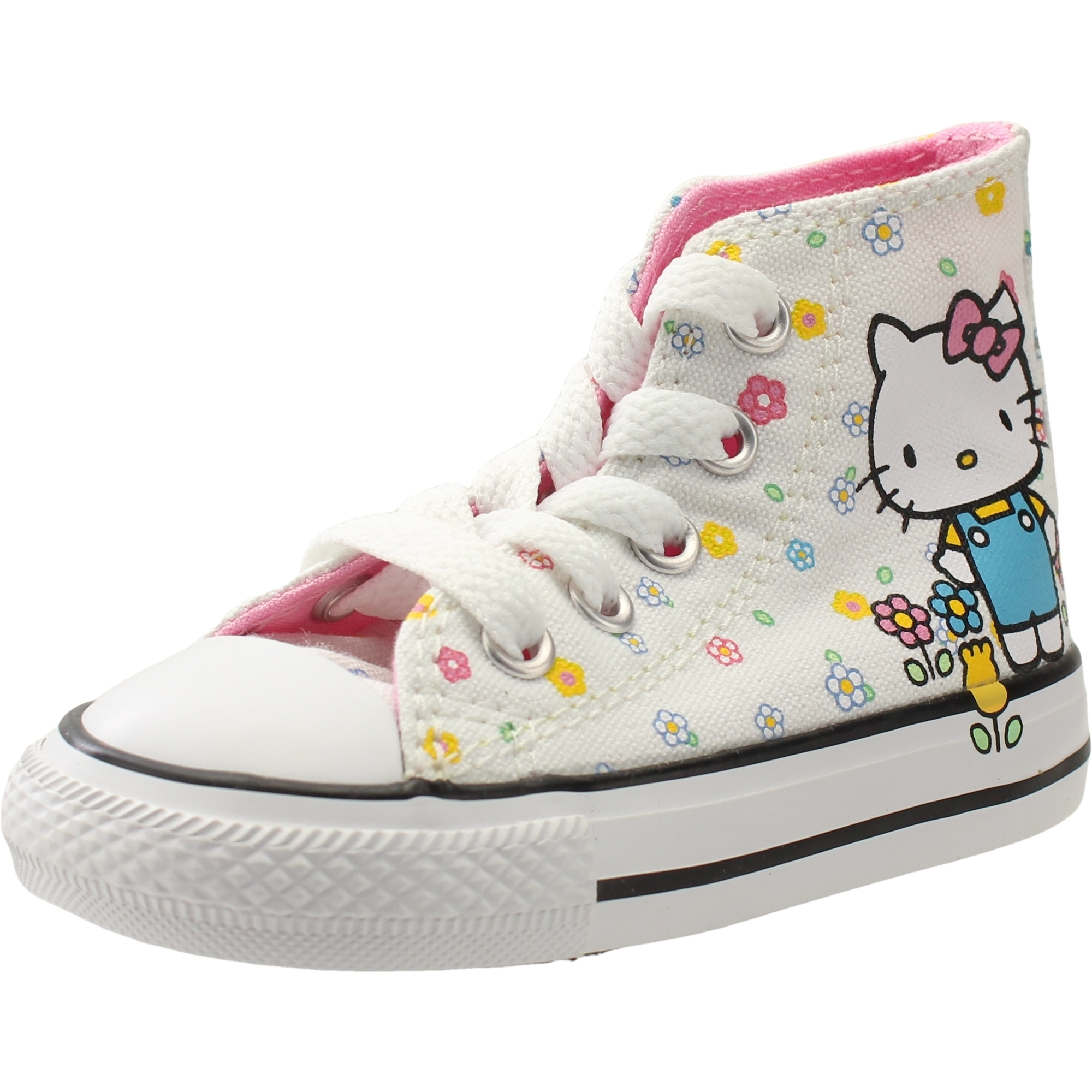 Converse Chuck Taylor All Star Hello Kitty Hi WhitePink Textile Baby