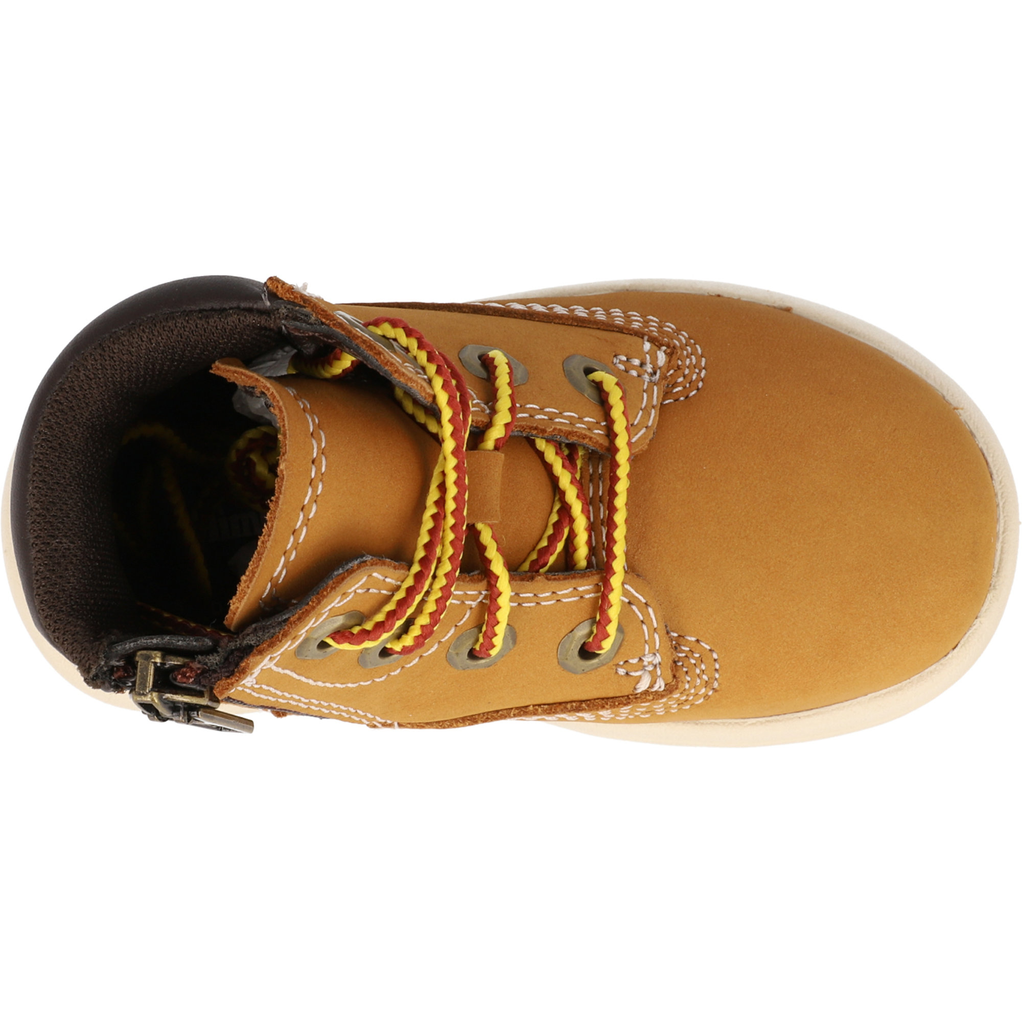 Timberland Toddle Tracks 6 Inch Wheat Nubuck Infant