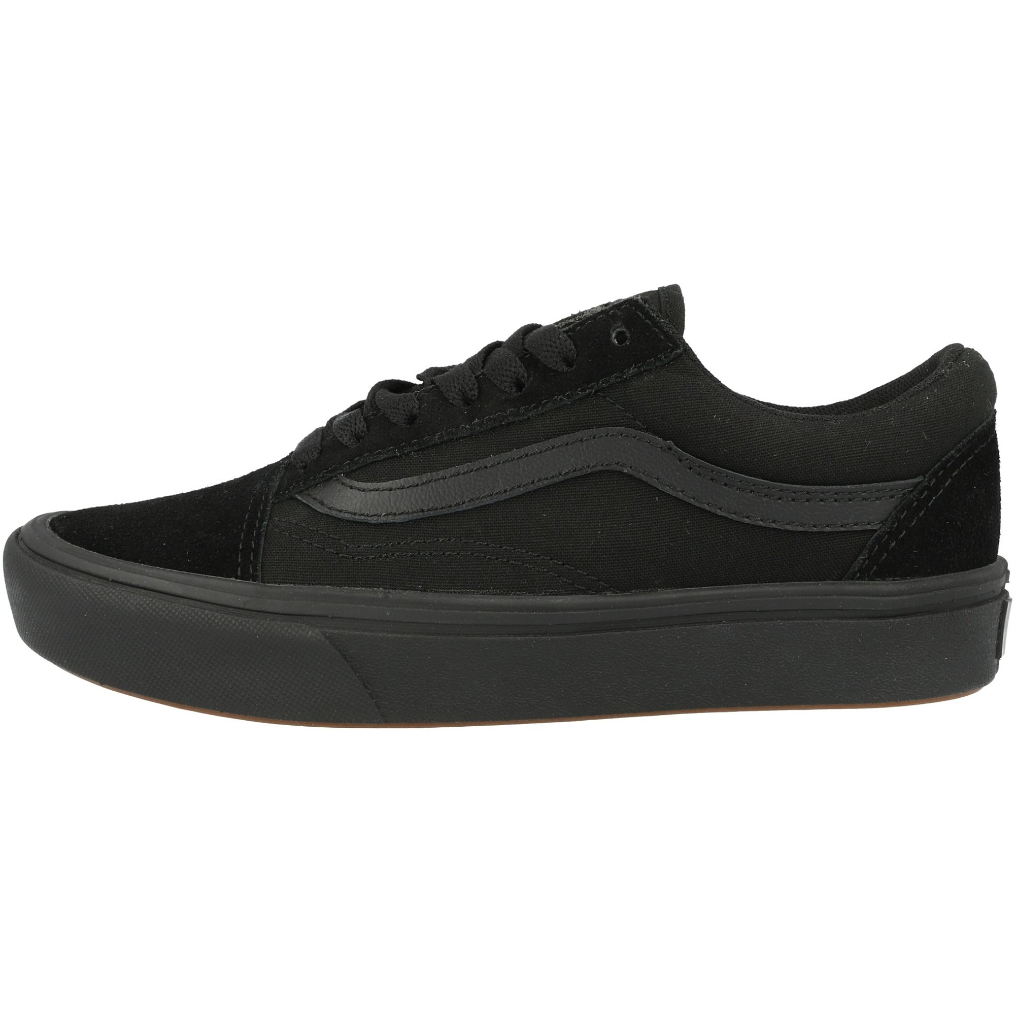 Vans UA ComfyCush Old Skool Black Suede Adult