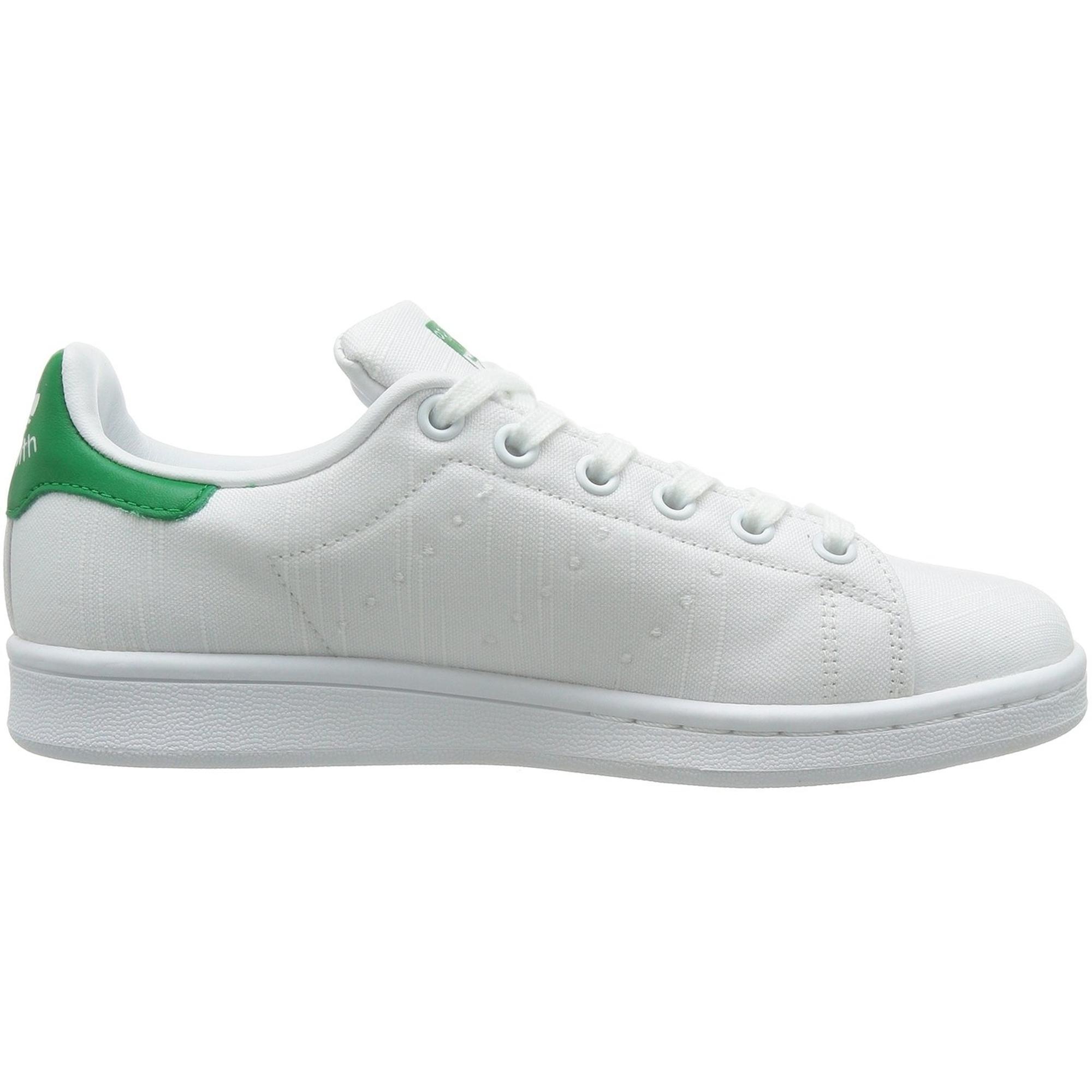 adidas Originals Stan Smith W WeißGrün Textil Erwachsene
