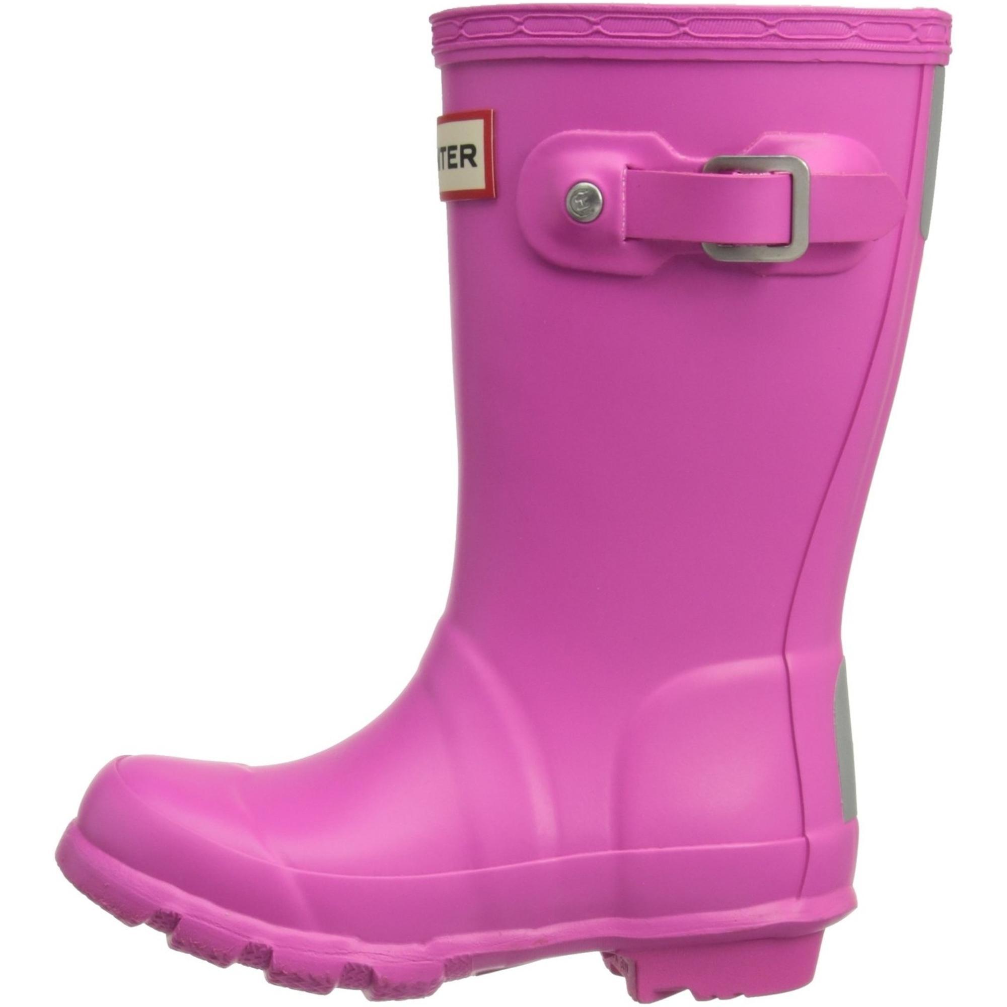 Hunter Kids First Classic Original Wellington Boot Wellies Lipstick Pink SIZE 10