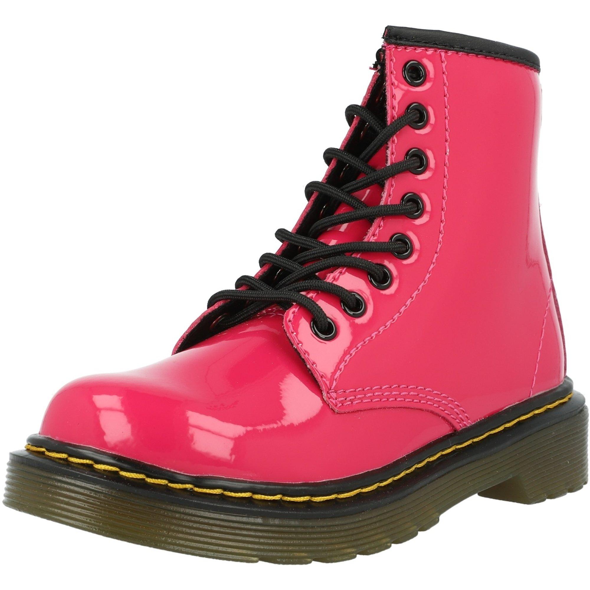 Dr Martens 1460 J Hot Pink Patent