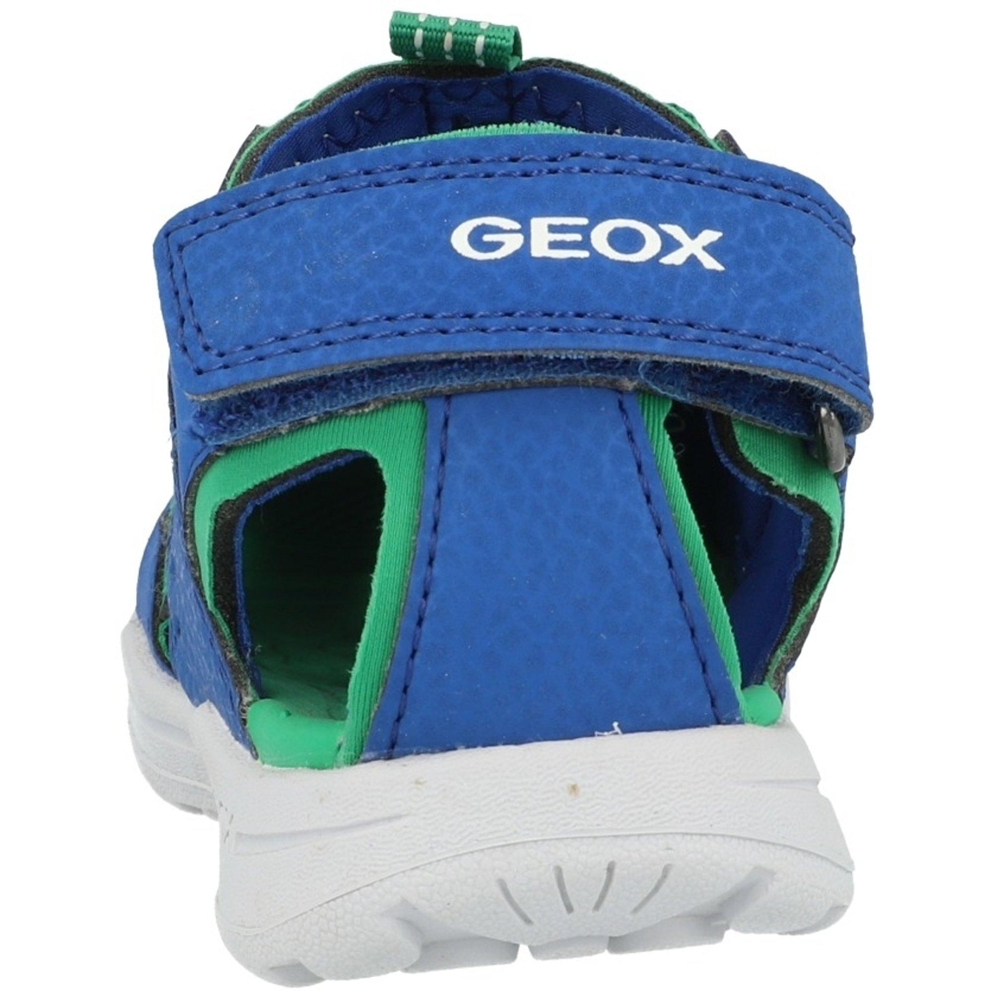 Geox J Vaniett B Royal/Green Durabuck