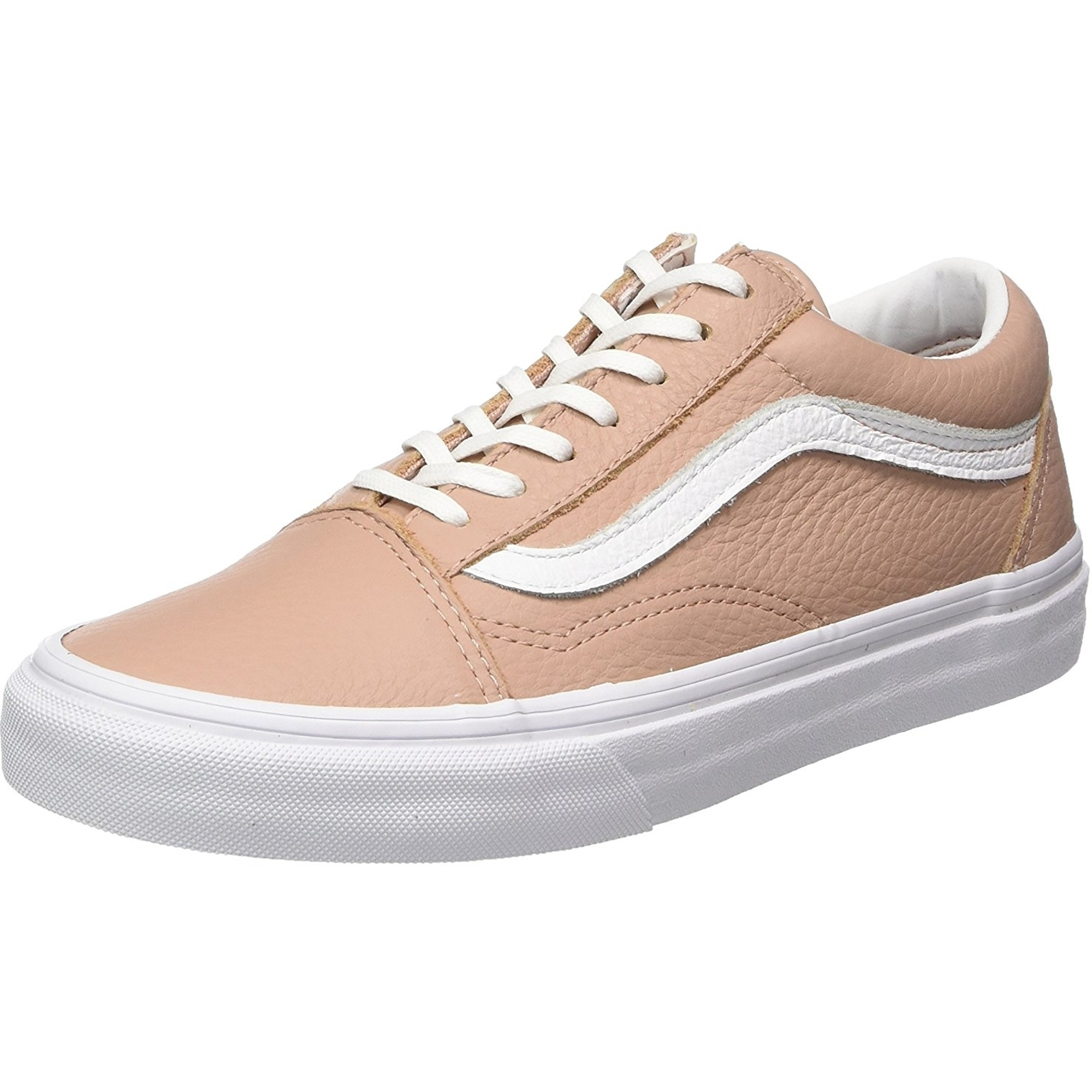 vans old skool rose cuir