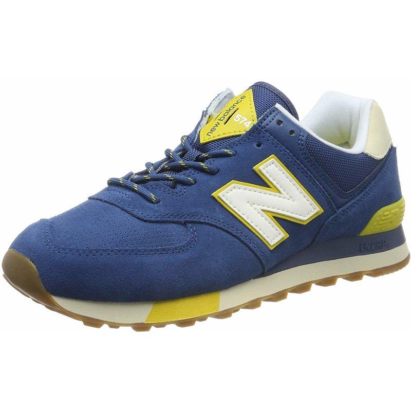 new balance 574 dark blue