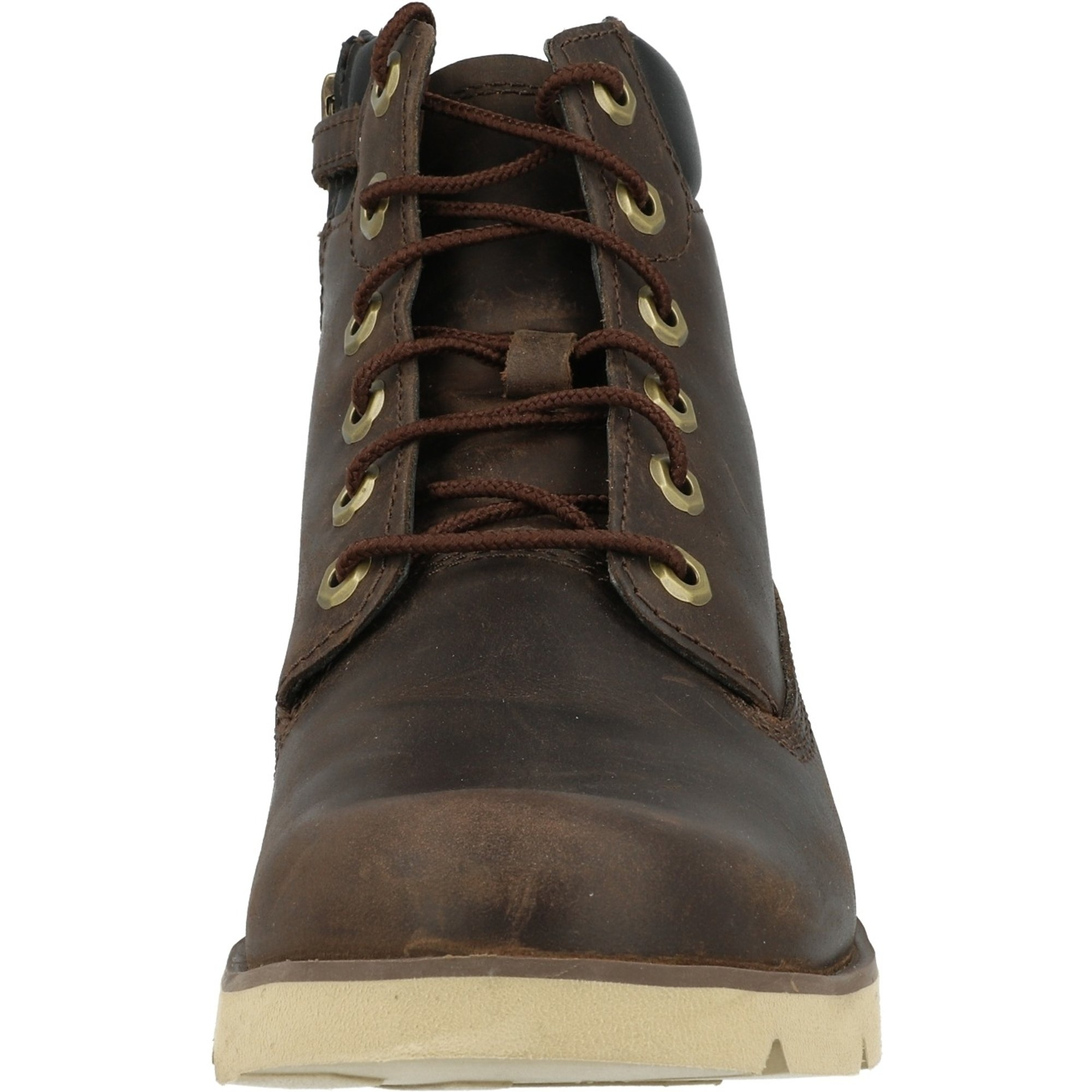 Timberland Radford 6 Inch Boot J Medium Brown Full Grain Leather Junior Ankle Boots