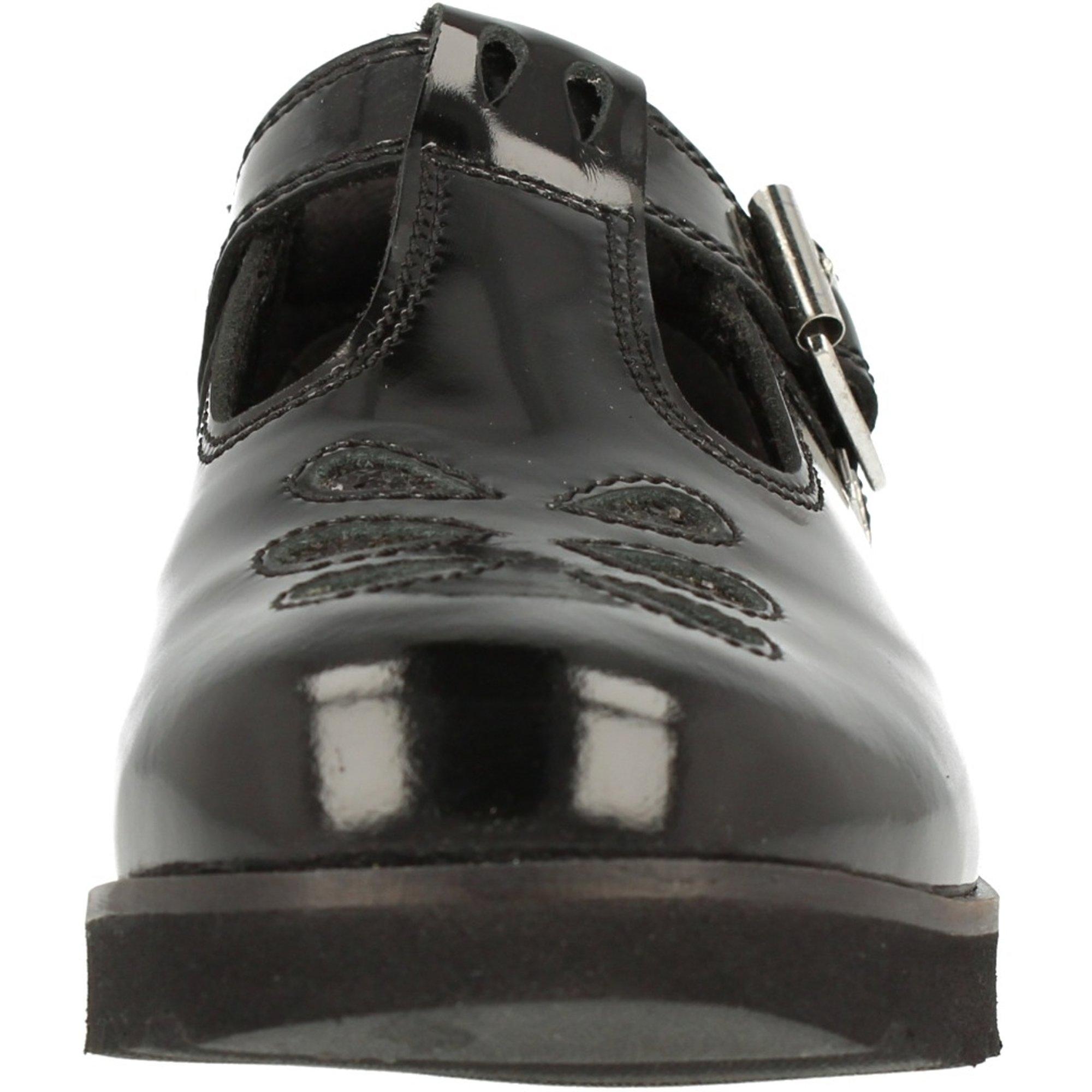 Kickers Kick C Lite T J Black Patent