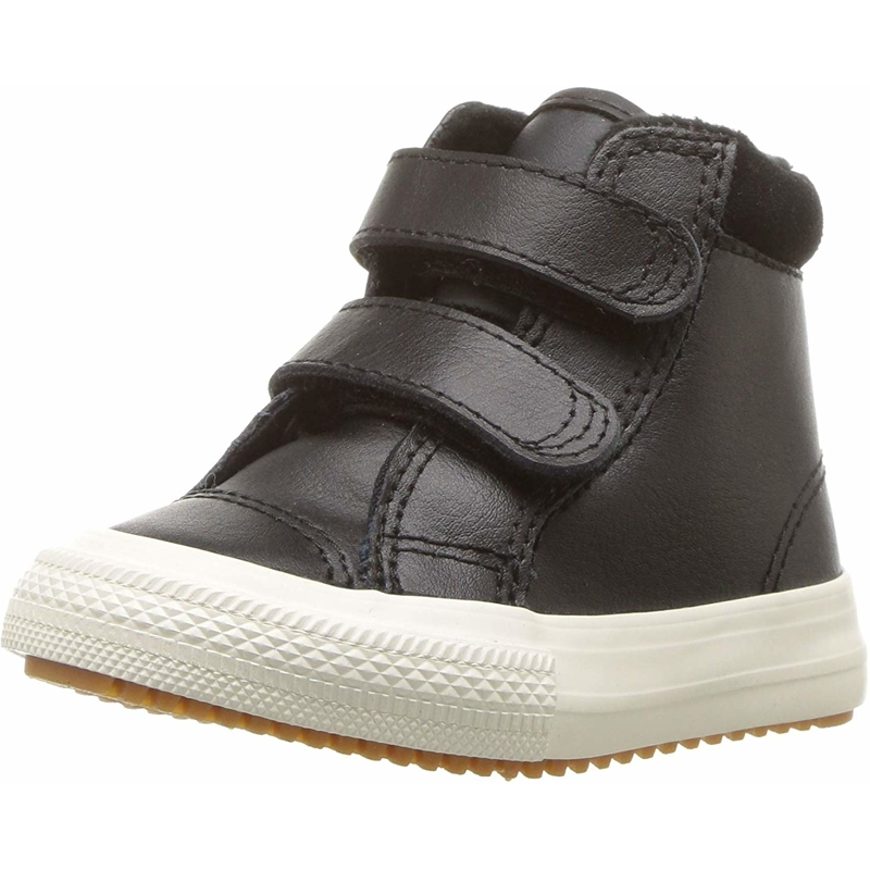 Details about Converse Chuck Taylor All Star 2V PC Boot Hi Black Leather Baby Ankle Boots