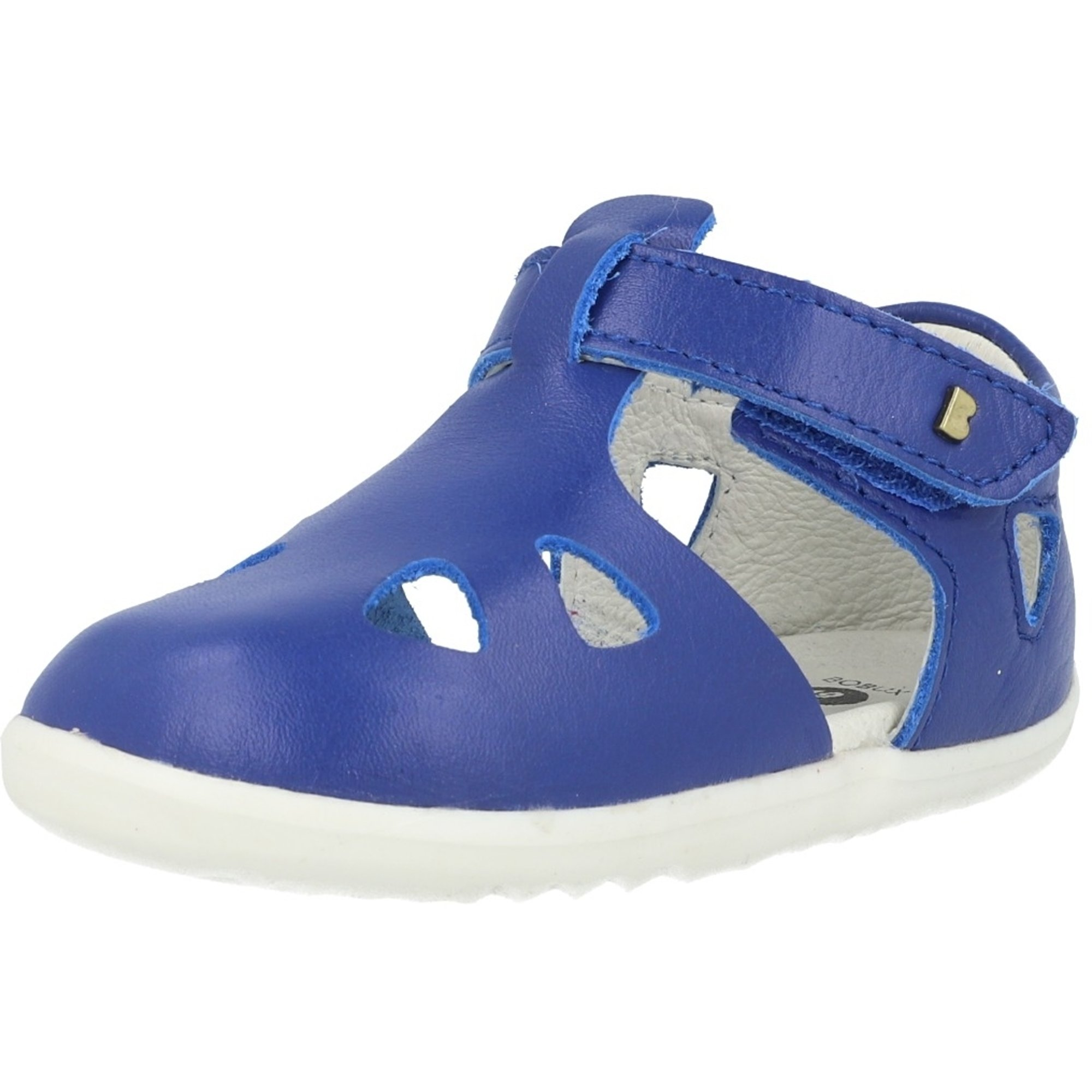 Bobux Step-Up Zap Blueberry Leather