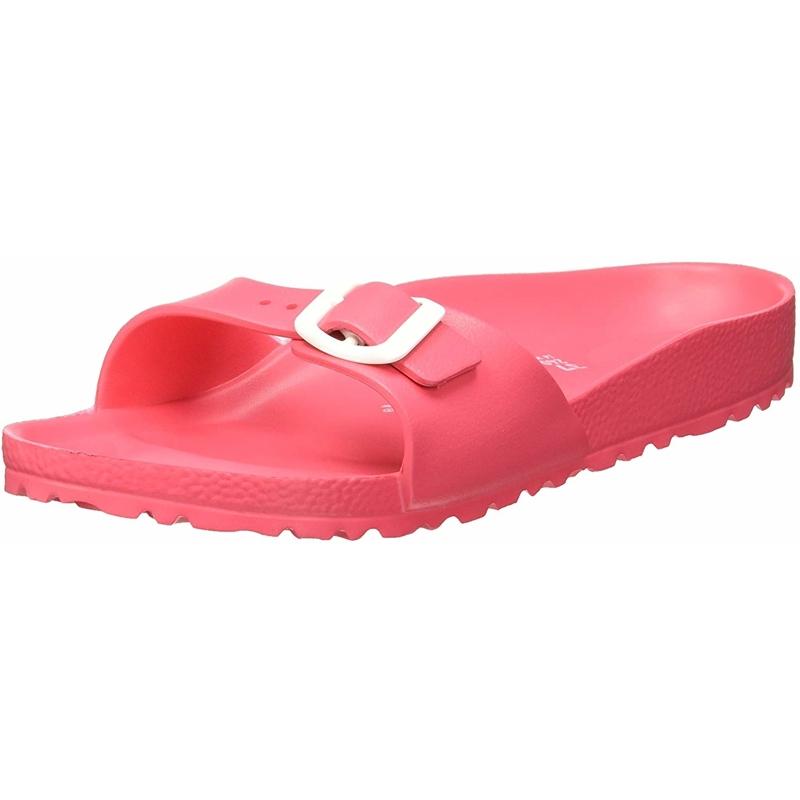 Details about Birkenstock Madrid EVA Coral Eva Adult Slides Sandals