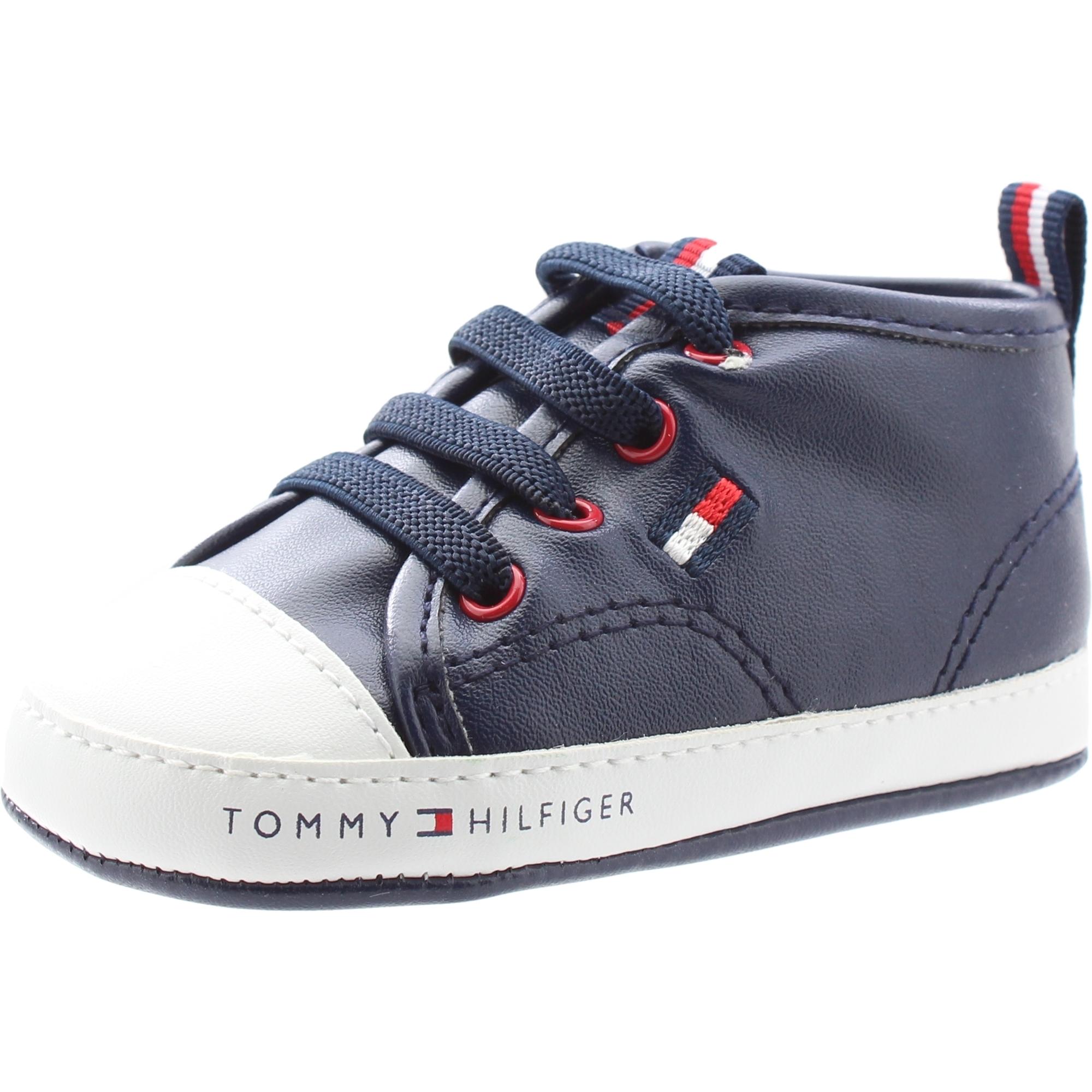 Tommy Hilfiger T0B4 30009 0272 BlauWeiß Öko Leder Baby