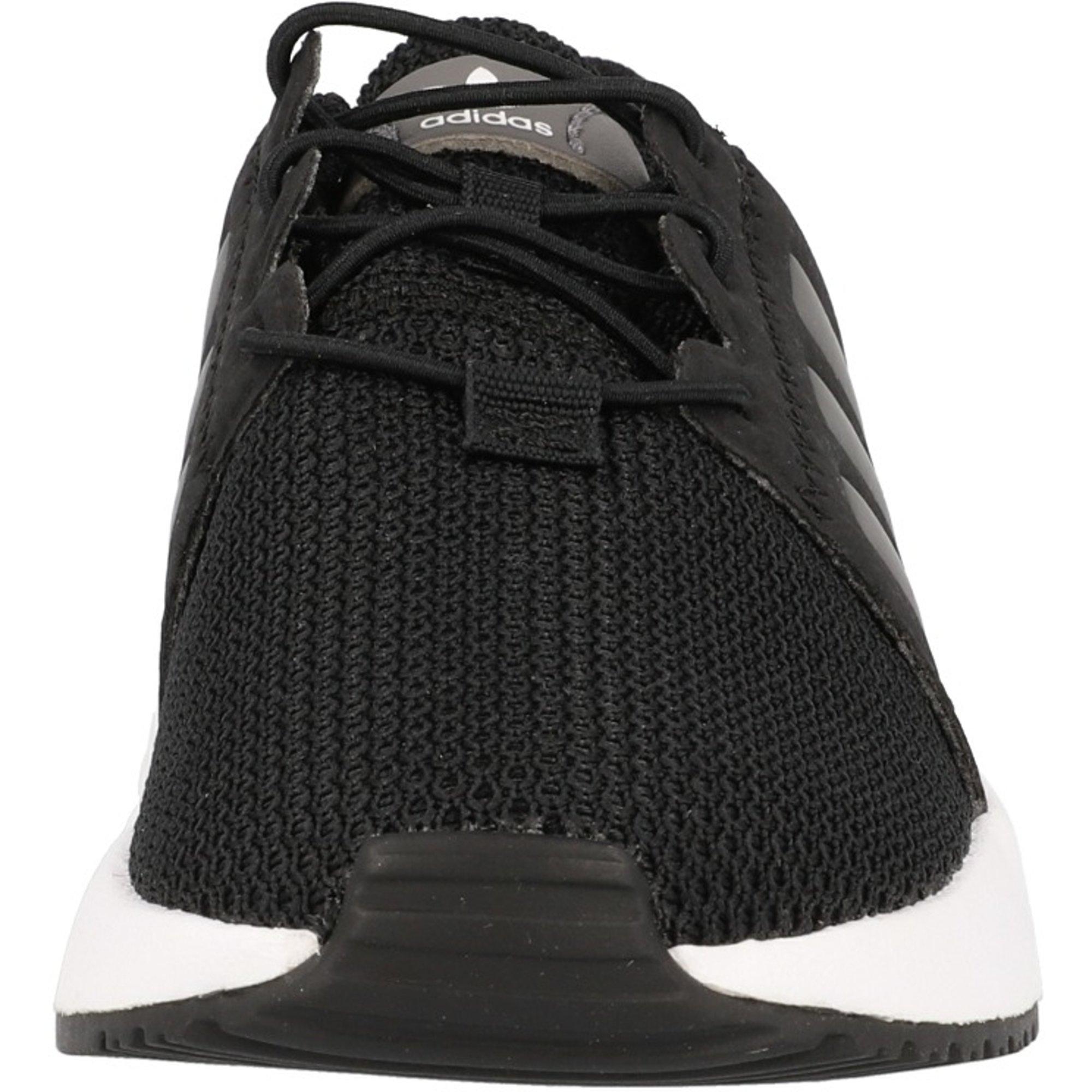 adidas Originals X/_PLR EL I Black//Grey Four Textile Infant Trainers