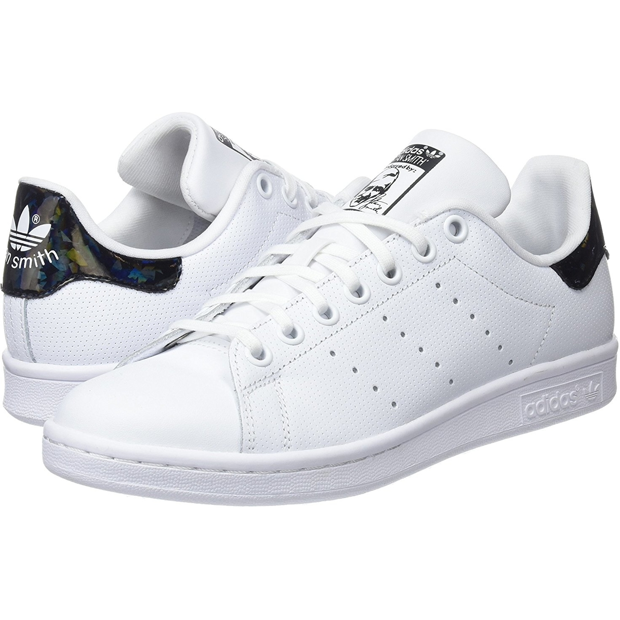 adidas stan smith velcro nero and bianca