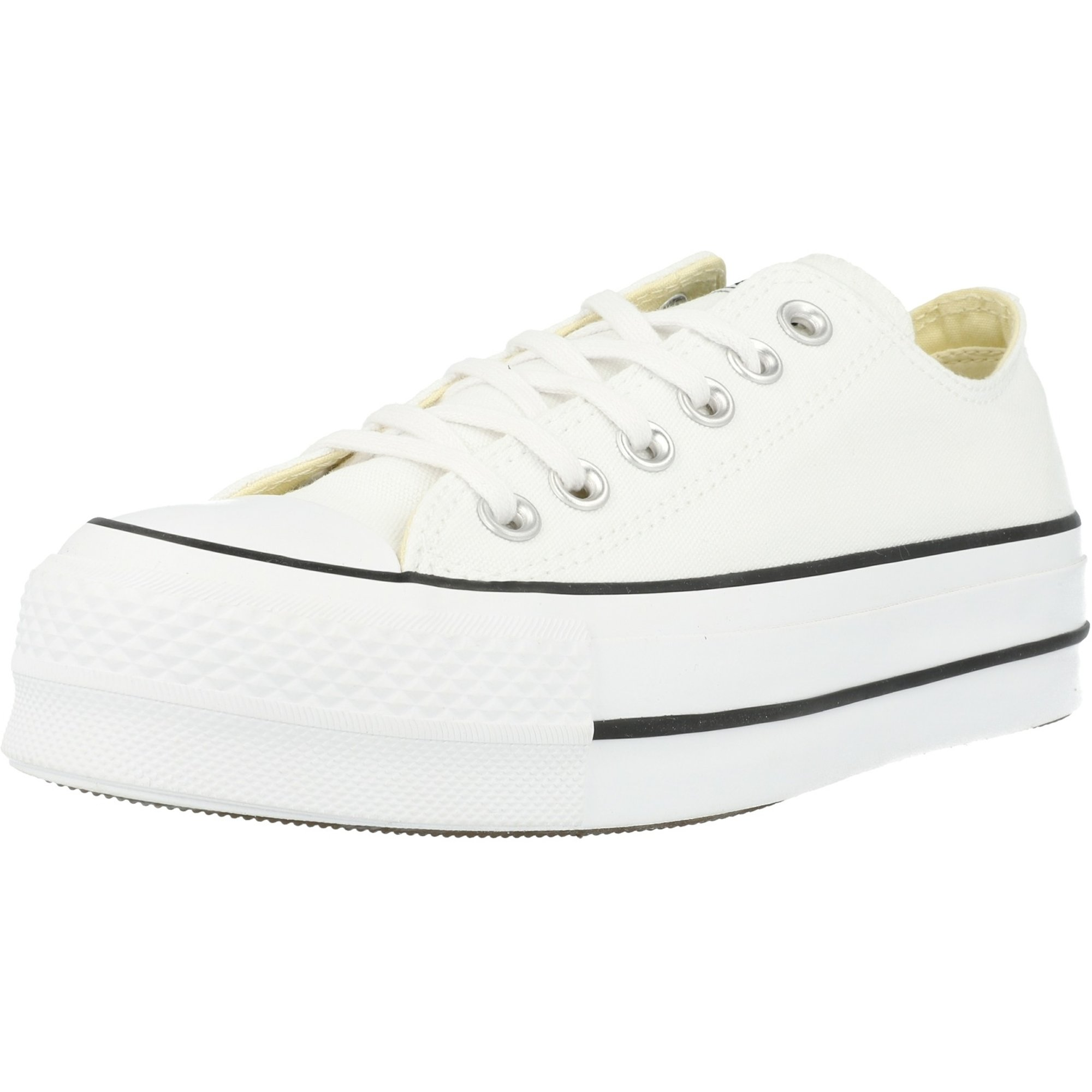 Converse Chuck Taylor All Star Lift Ox White/Black Canvas