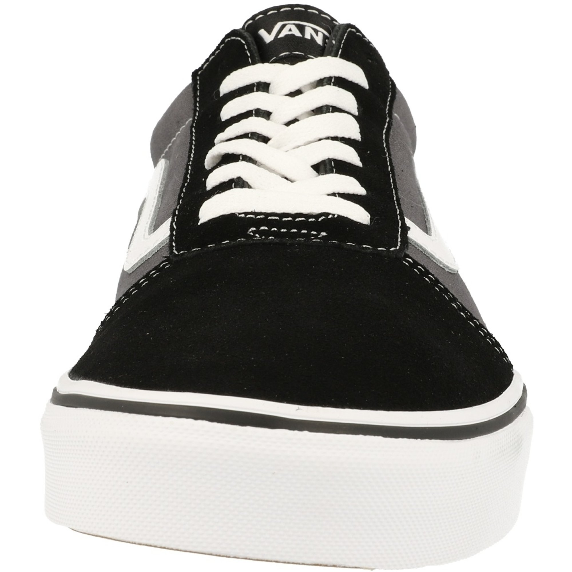 Vans MN Ward Black/Pewter Suede Adult
