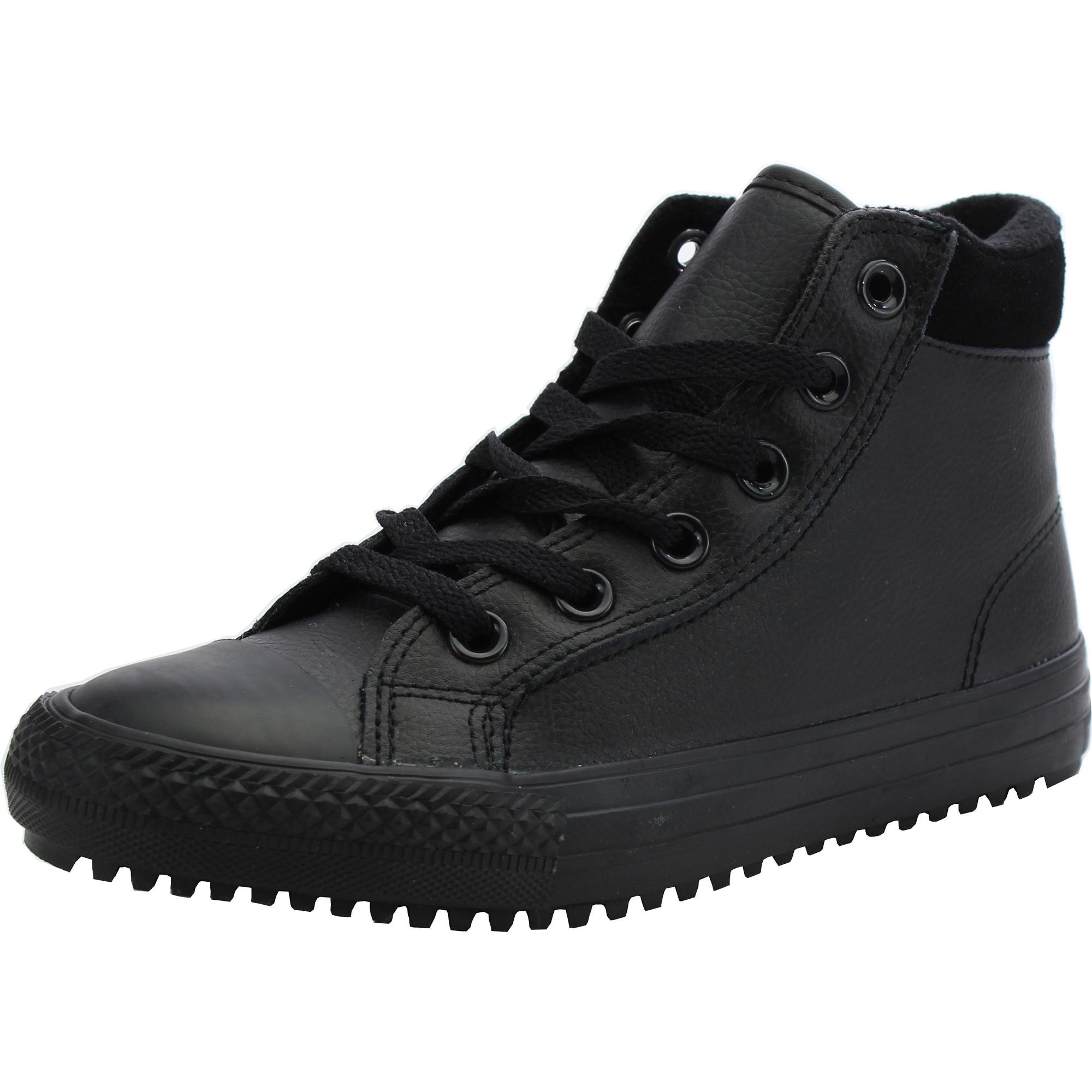 Converse Chuck Taylor All Star Weatherized Black Leather Junior