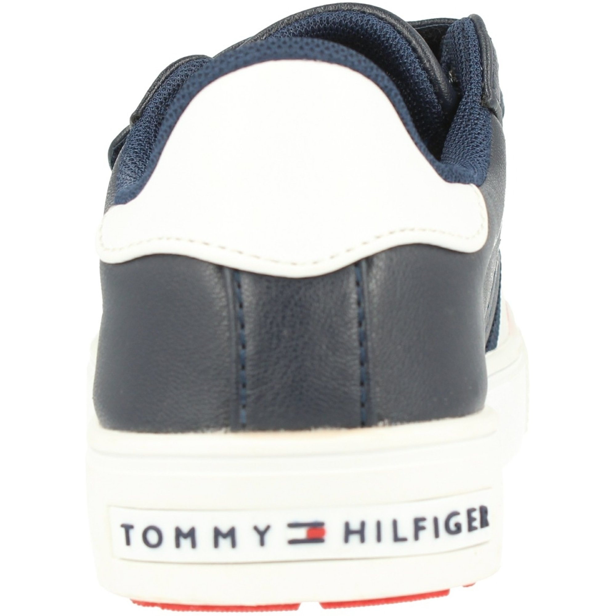 Tommy Hilfiger T3B4-30321-0621 Blue/White Eco Leather Youth