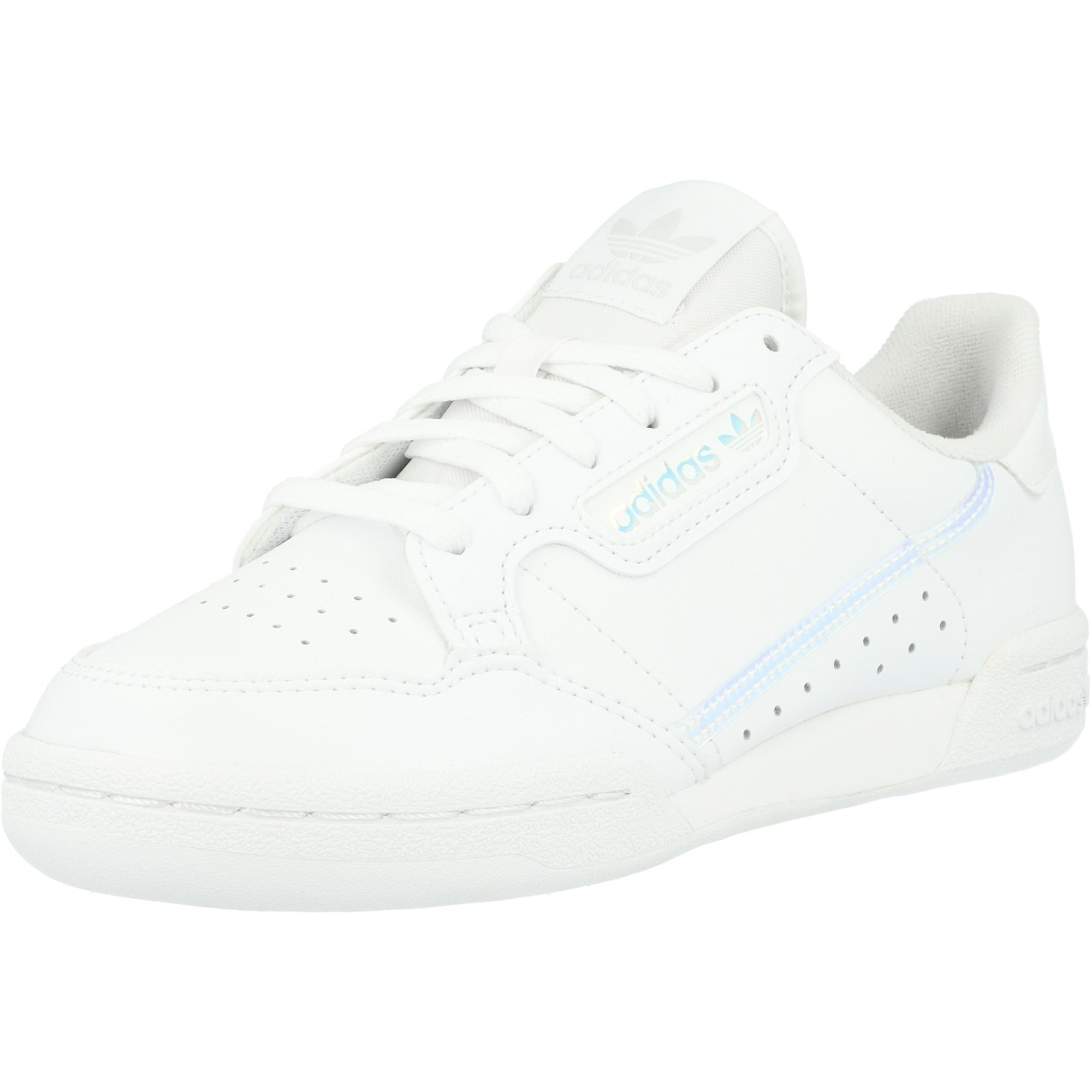 adidas Originals Continental 80 J White/Iridescent Leather Junior