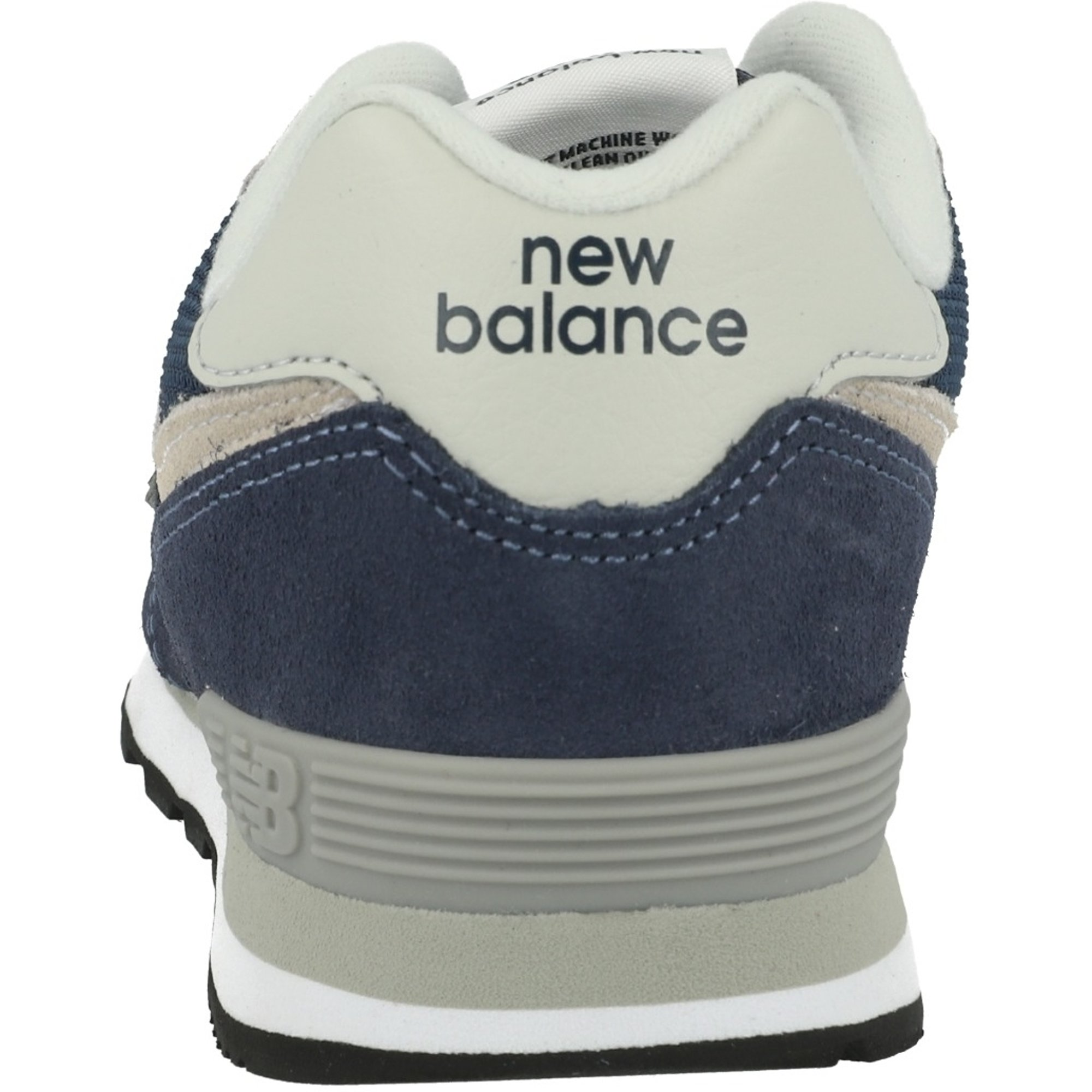 New Balance 574 Navy/Gray Suede Junior