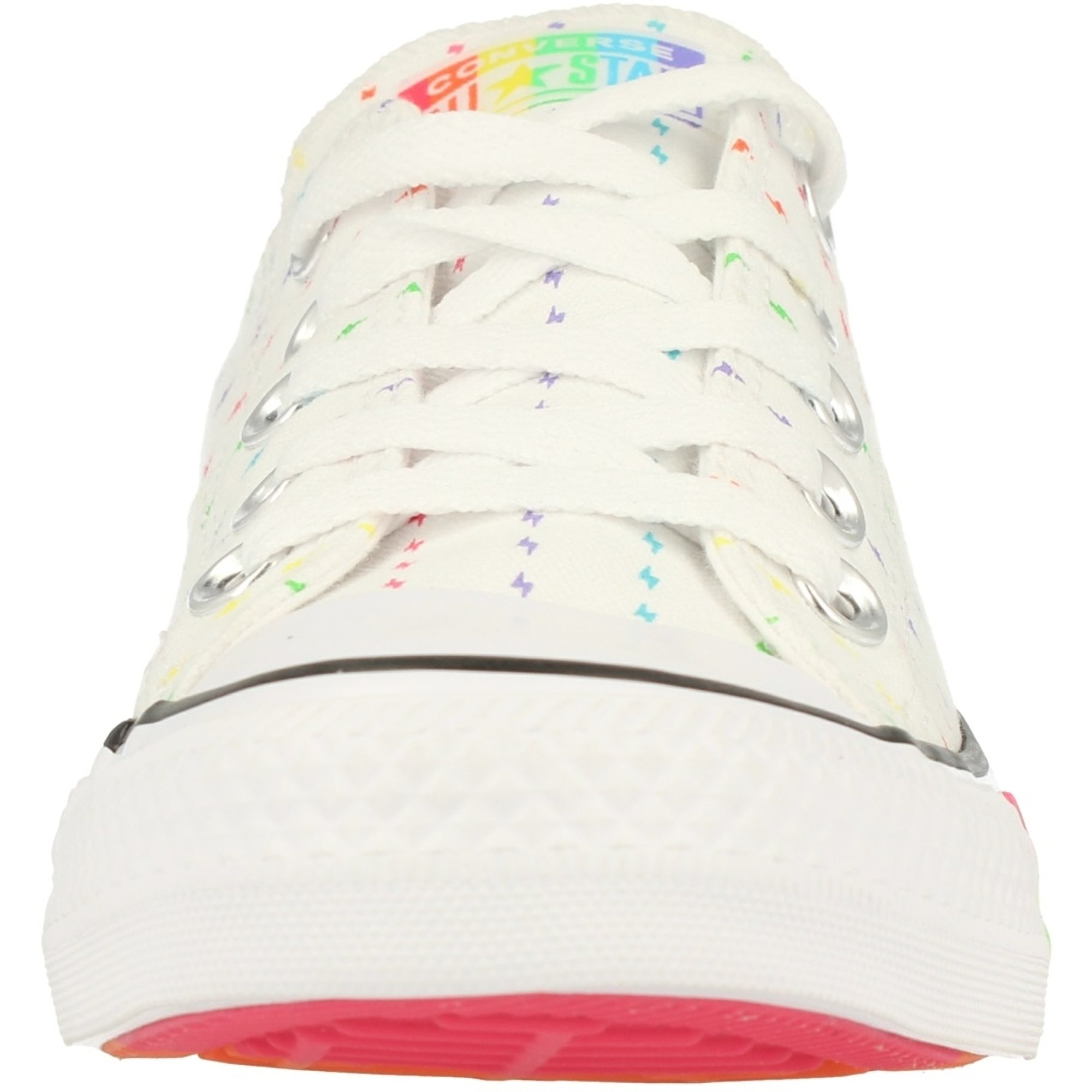 Converse Chuck Taylor All Star Pride Ox WhiteBlackMulti Canvas Adult