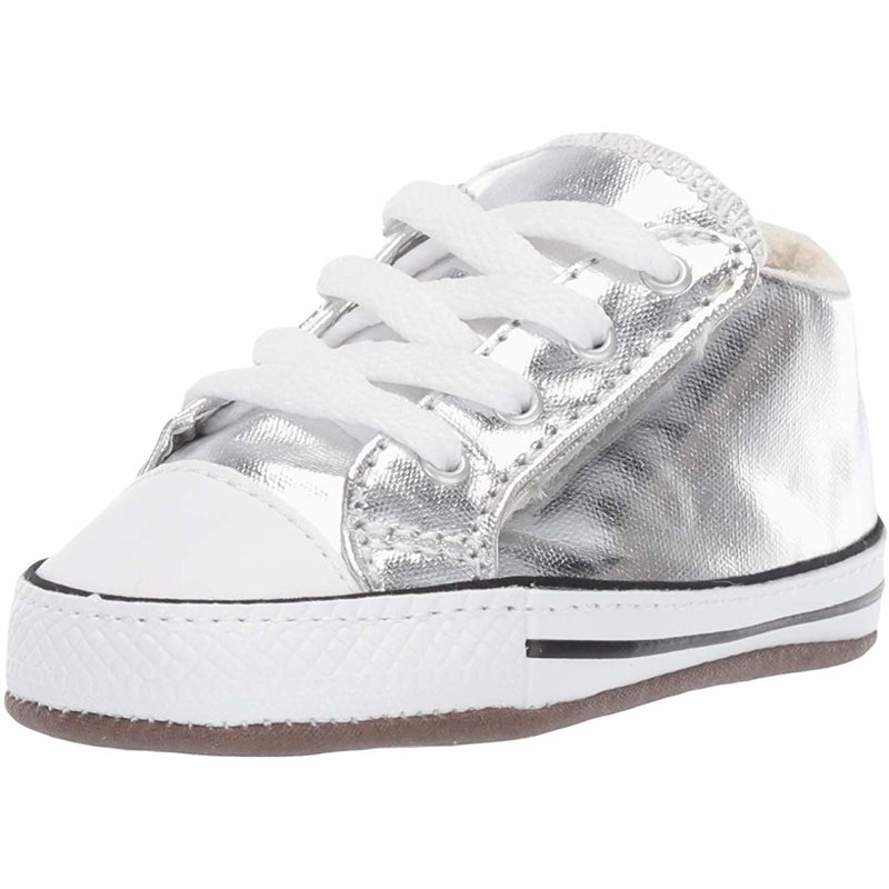 Details about Converse Chuck Taylor All Star Cribster Metallic Mid Metallic Granite Canvas