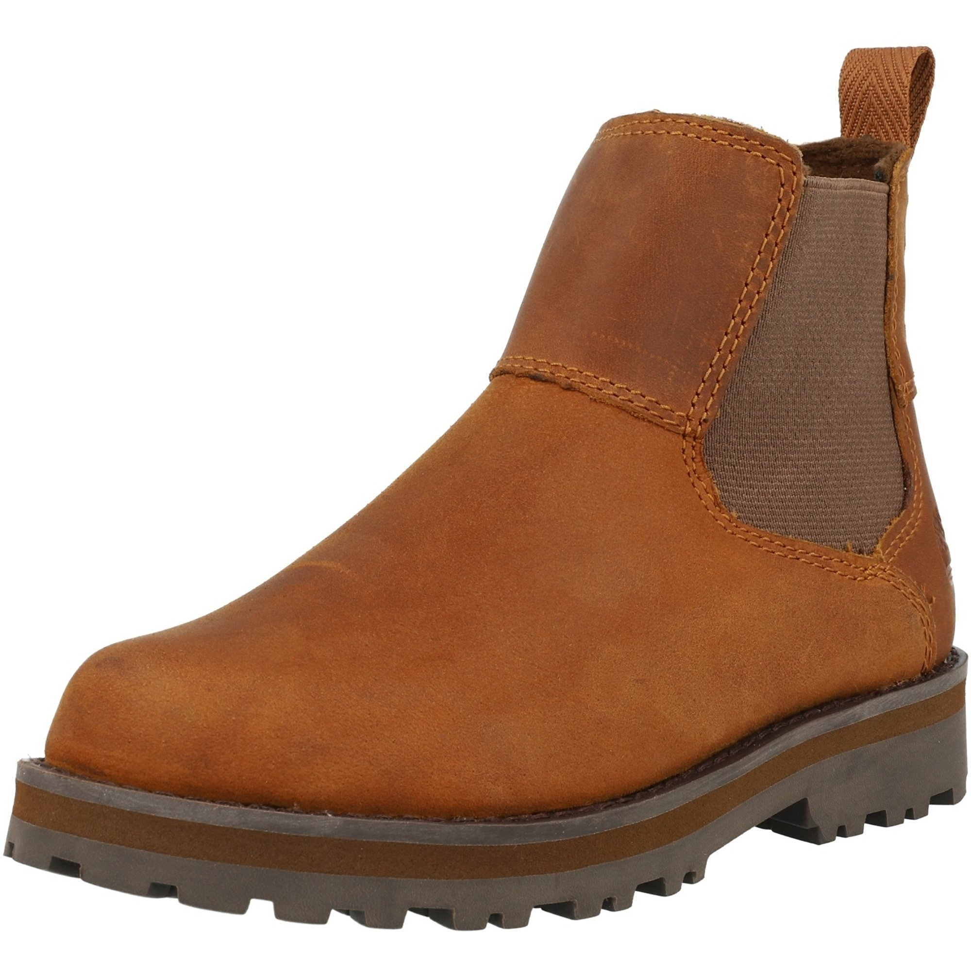 Timberland Courma Kid Chelsea Y Medium Brown Full Grain Leather